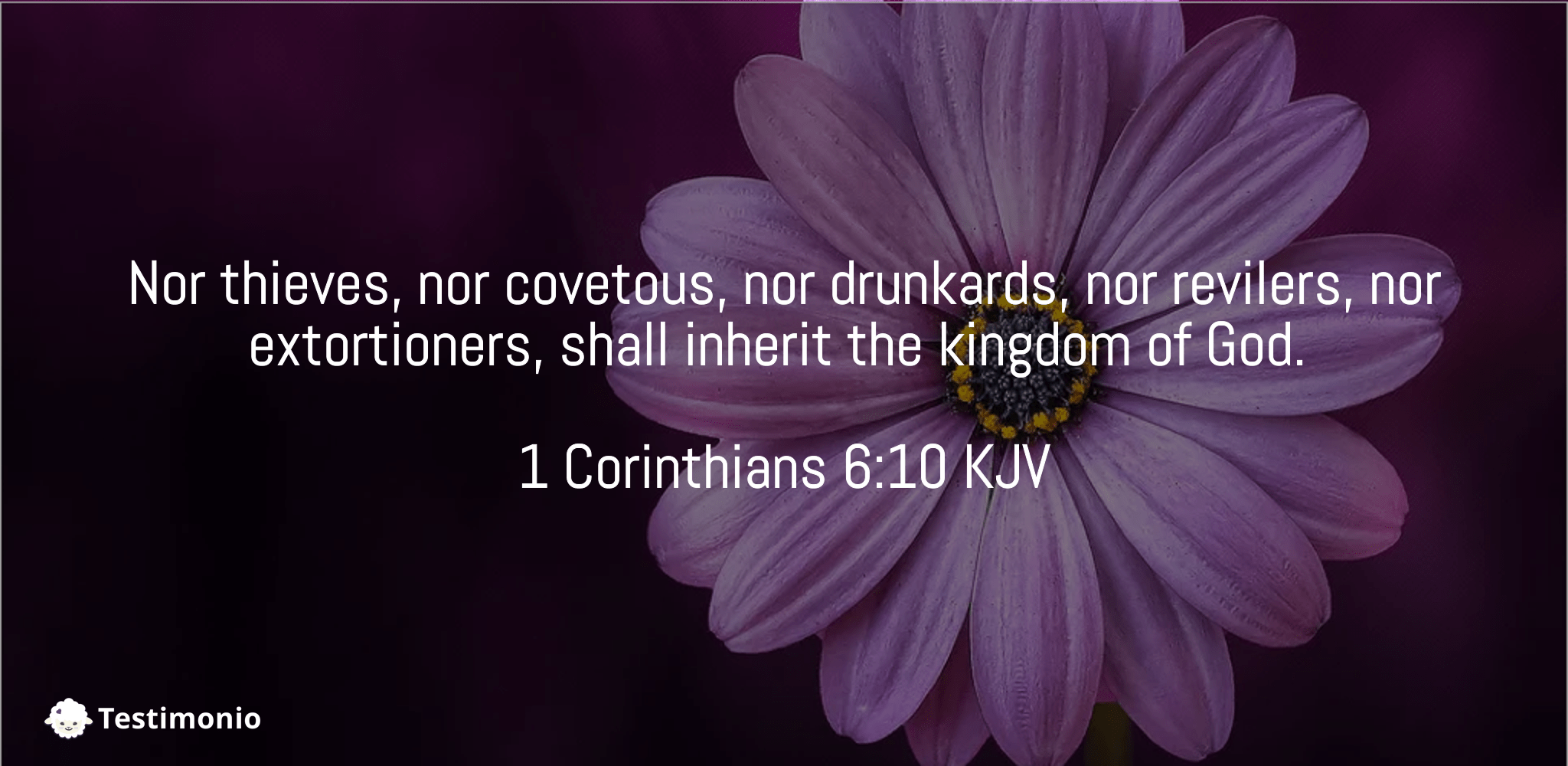1 Corinthians 6:10