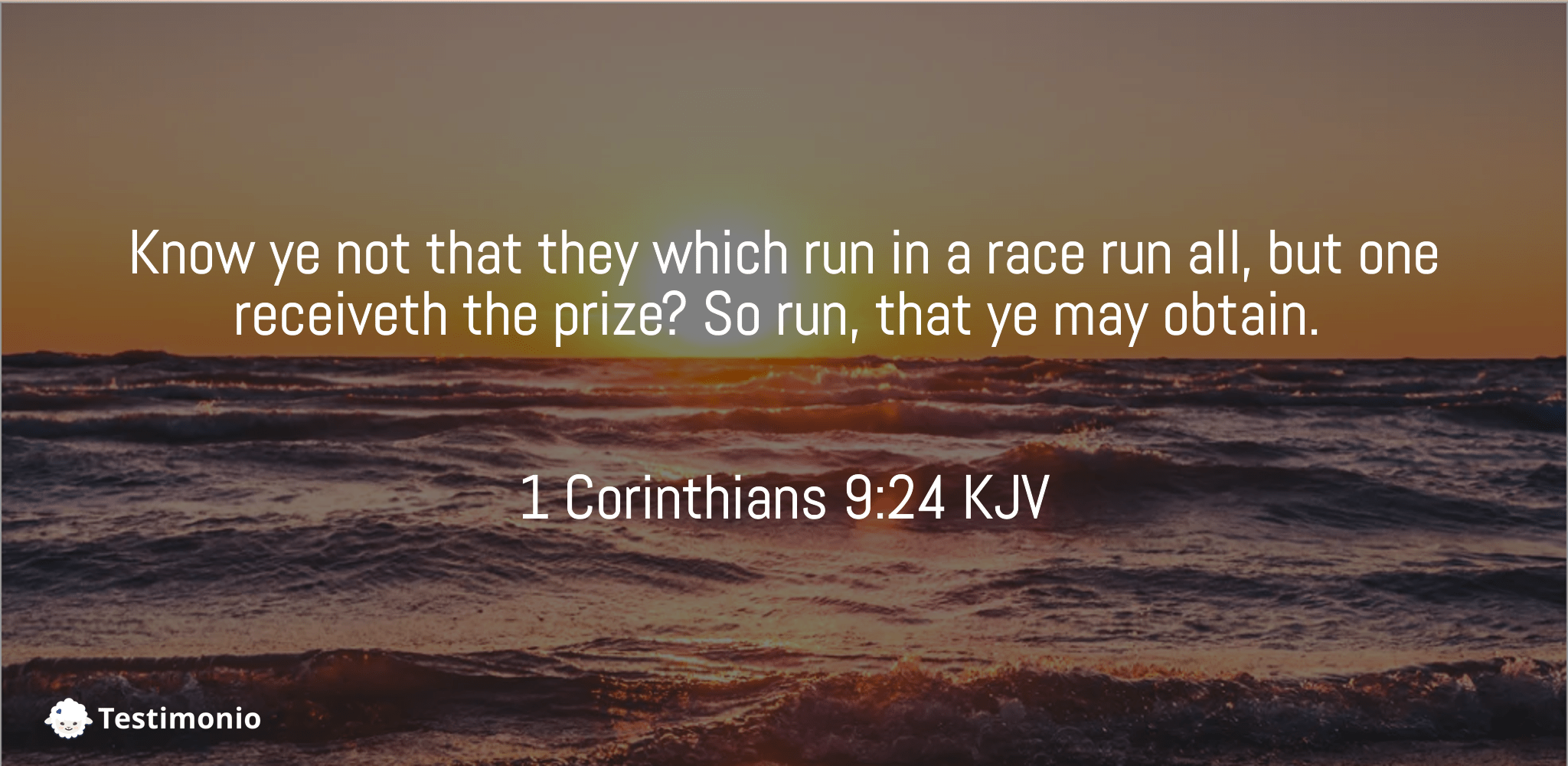 1 Corinthians 9:24