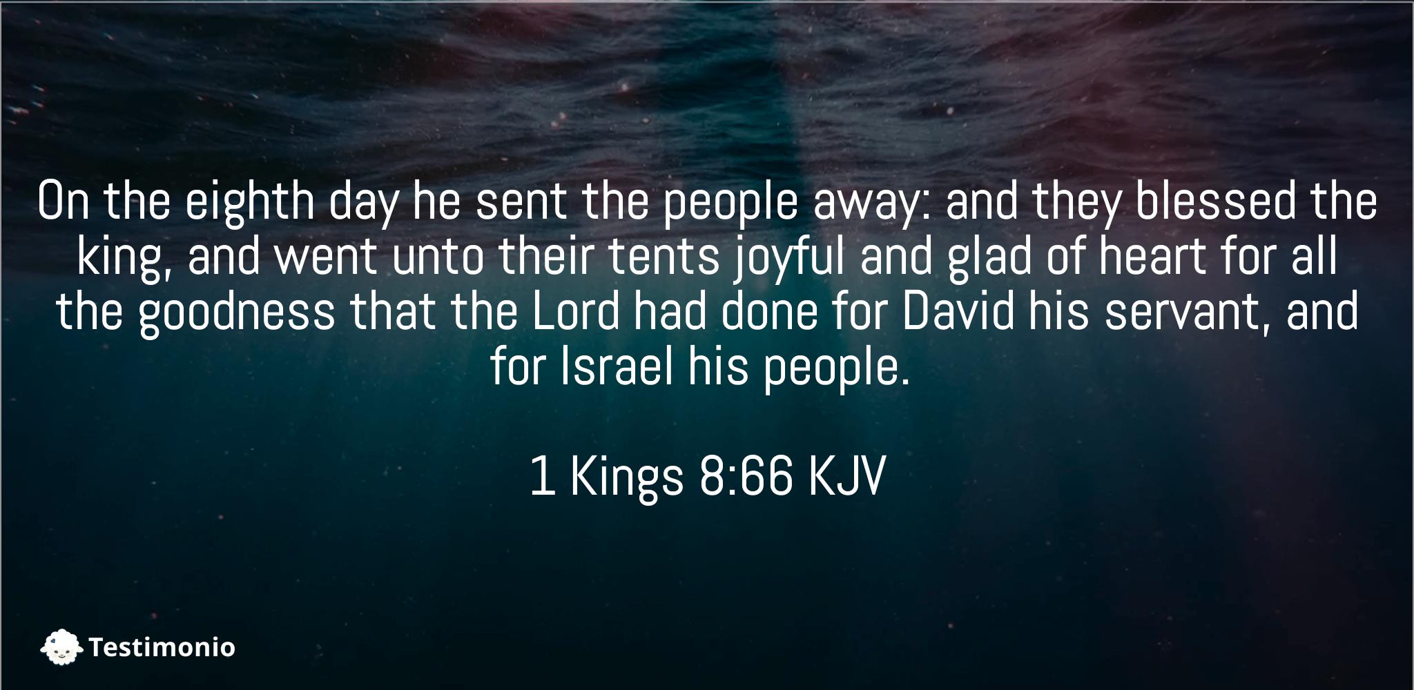 1 Kings 8:66