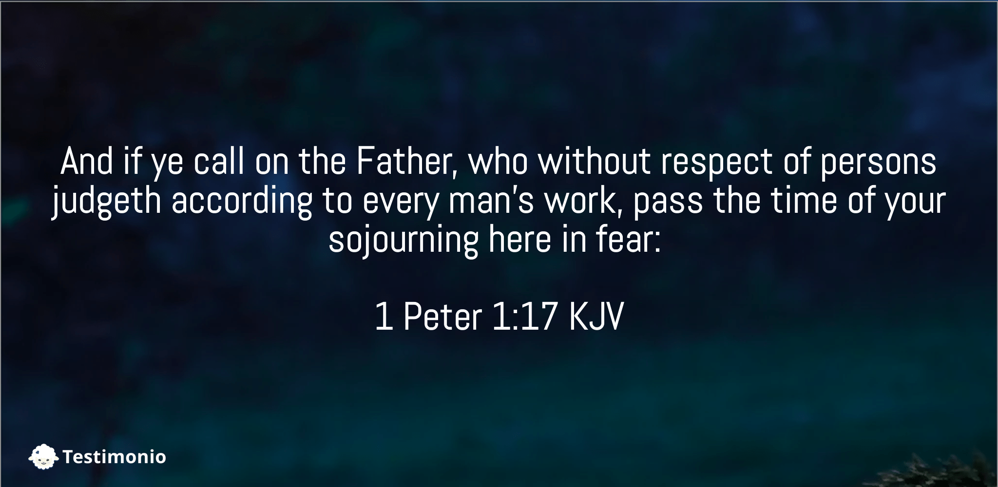 1 Peter 1:17