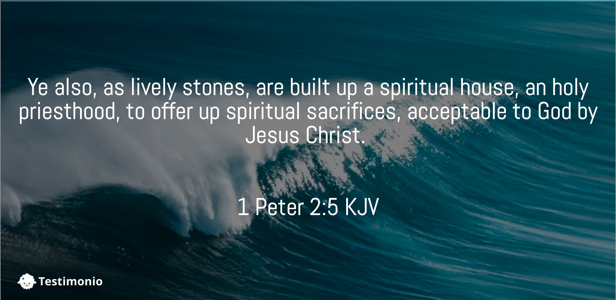 1 Peter 2:5