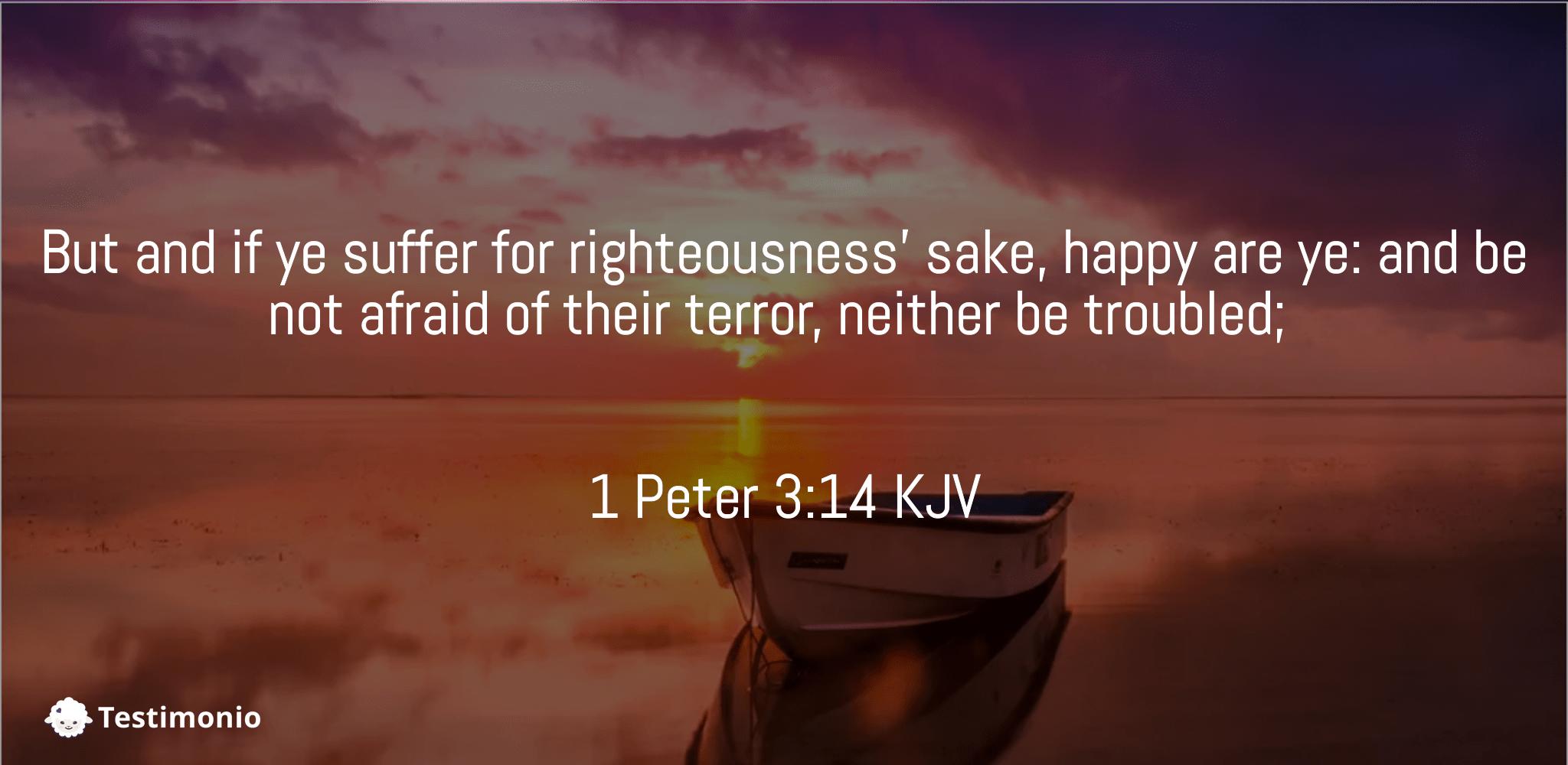 1 Peter 3:14