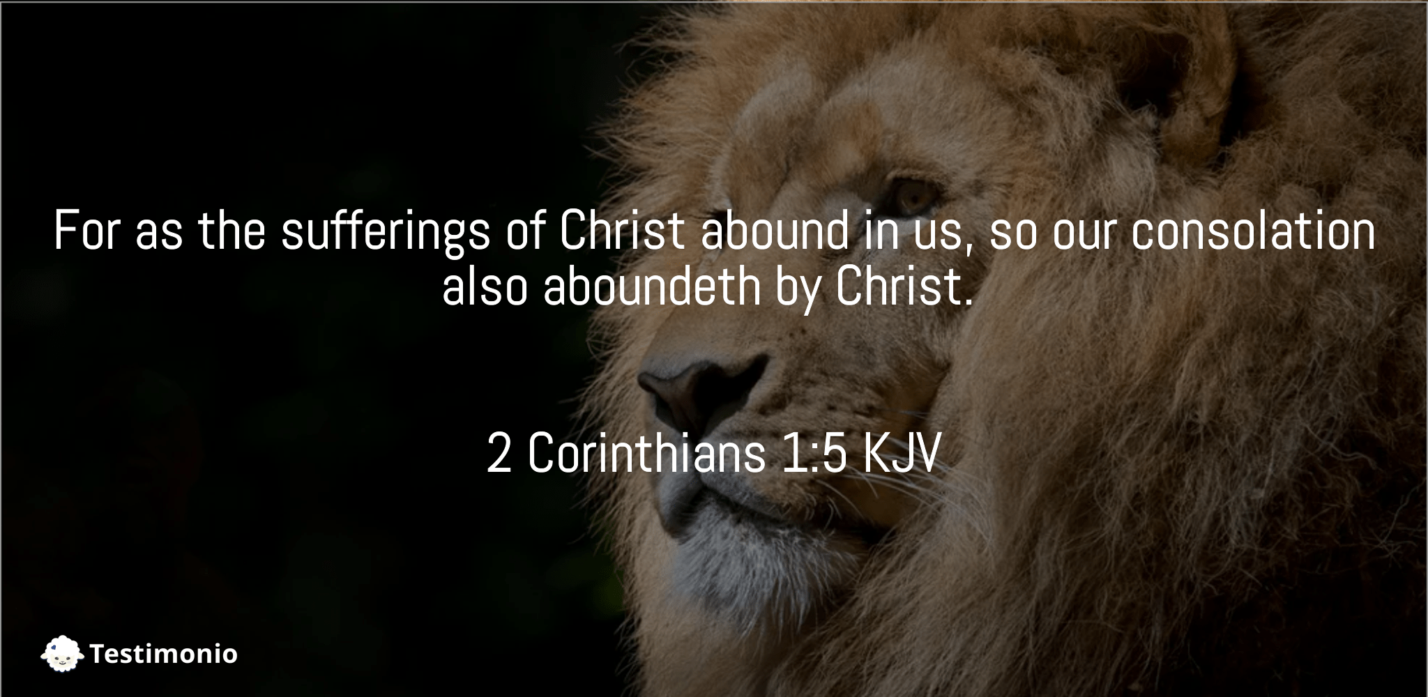 2 Corinthians 1:5