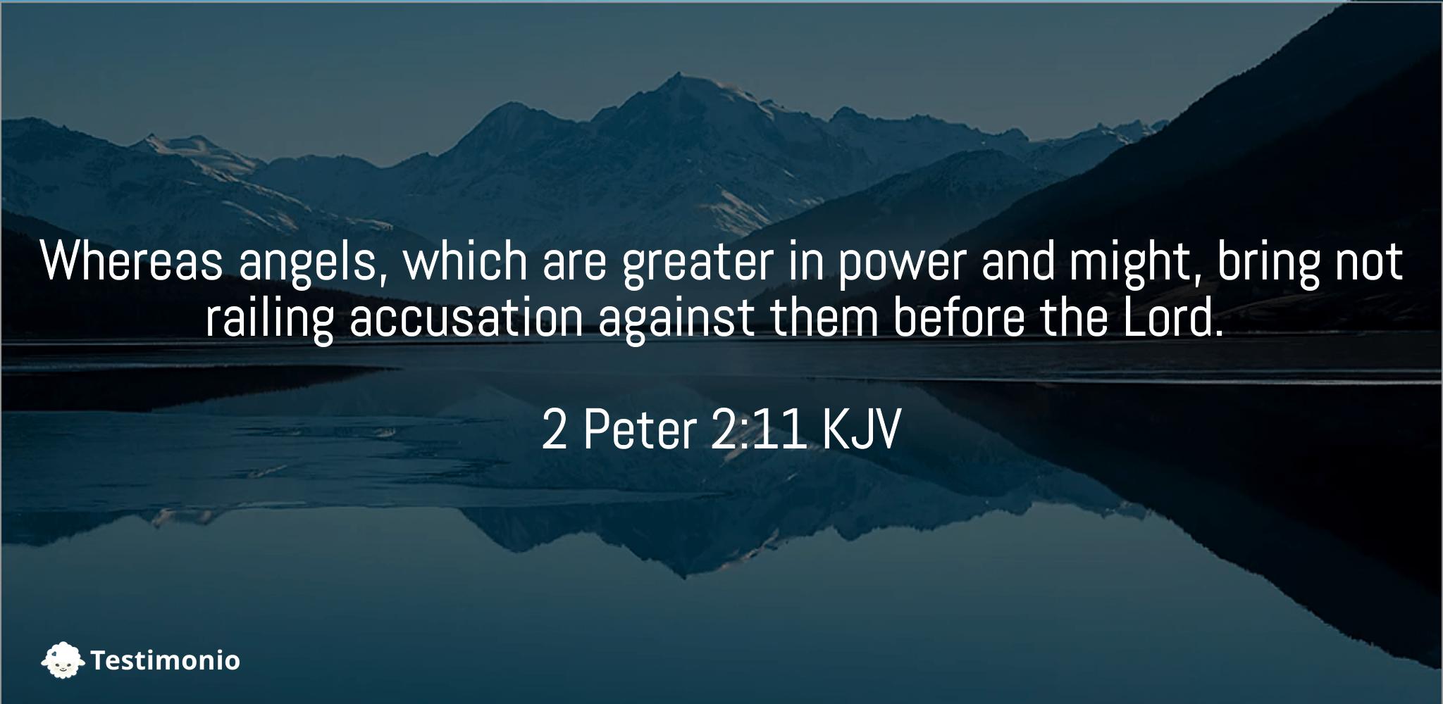 2 Peter 2:11