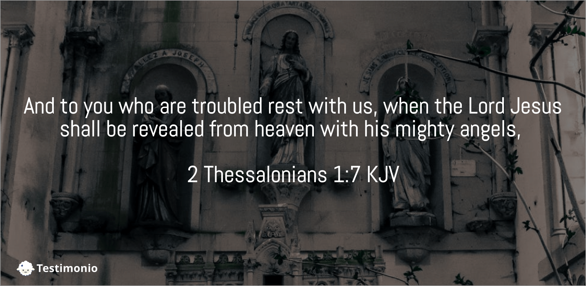 2 Thessalonians 1:7