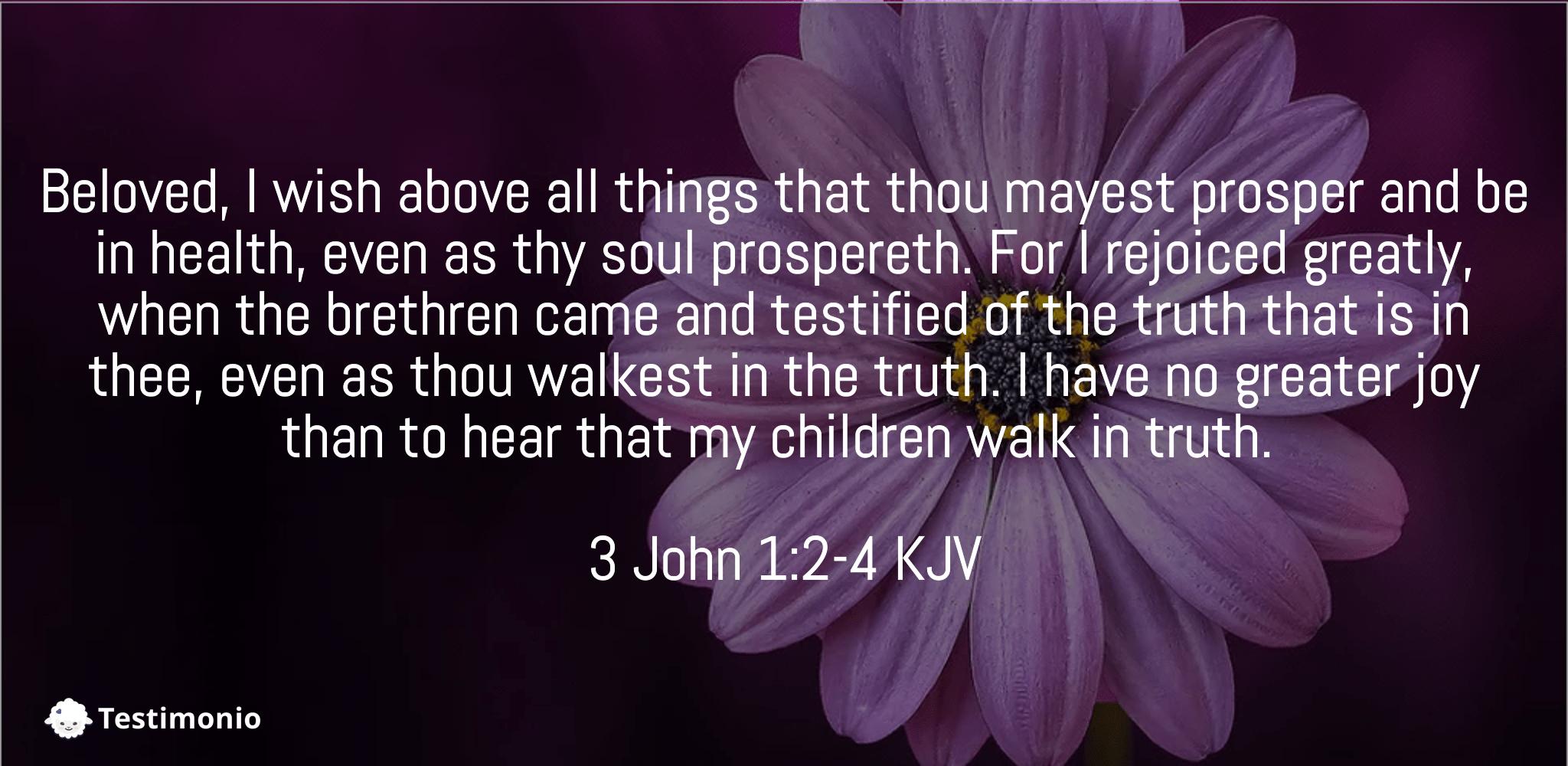 3 John 1:2-4