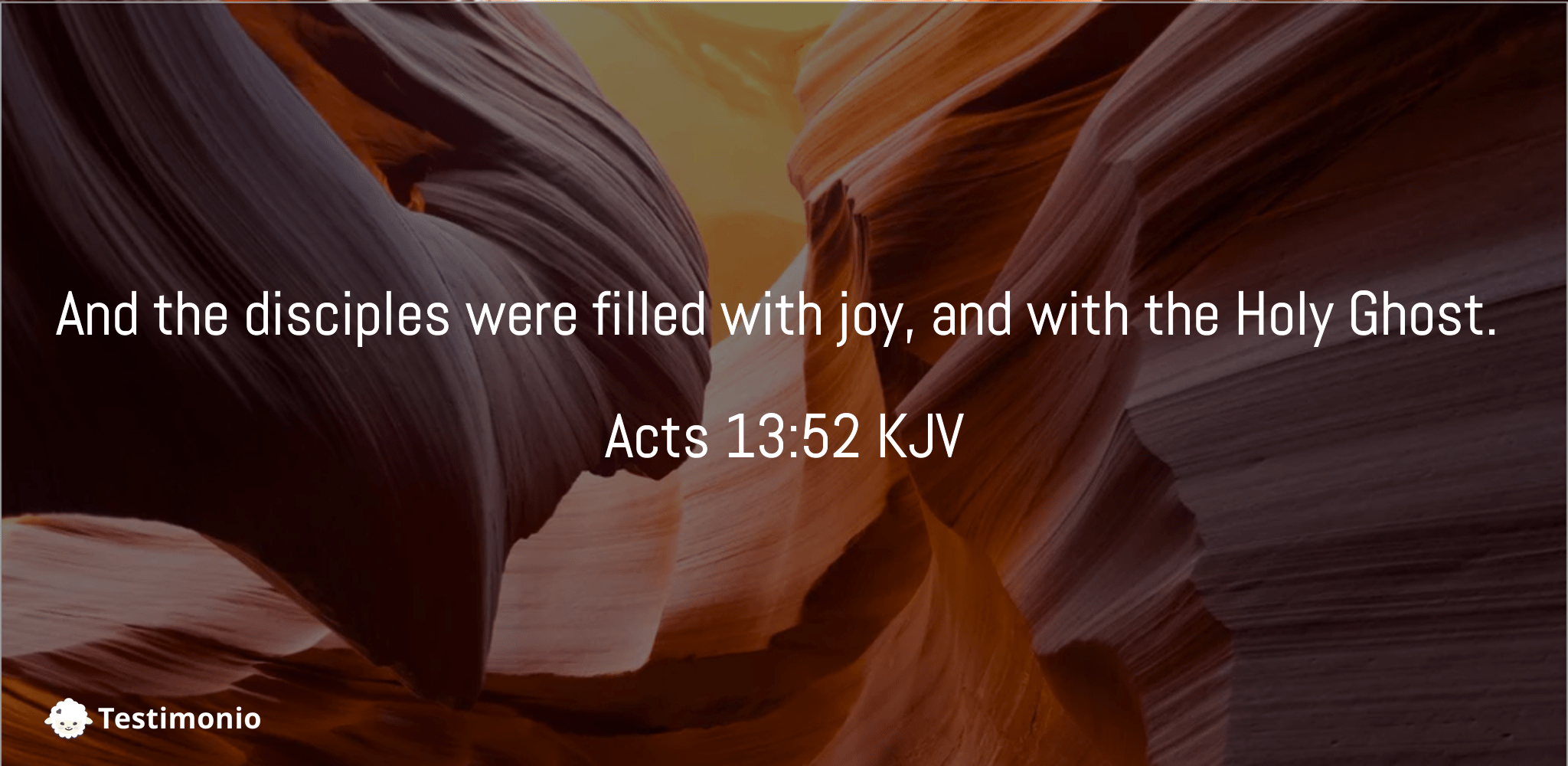 Acts 13:52