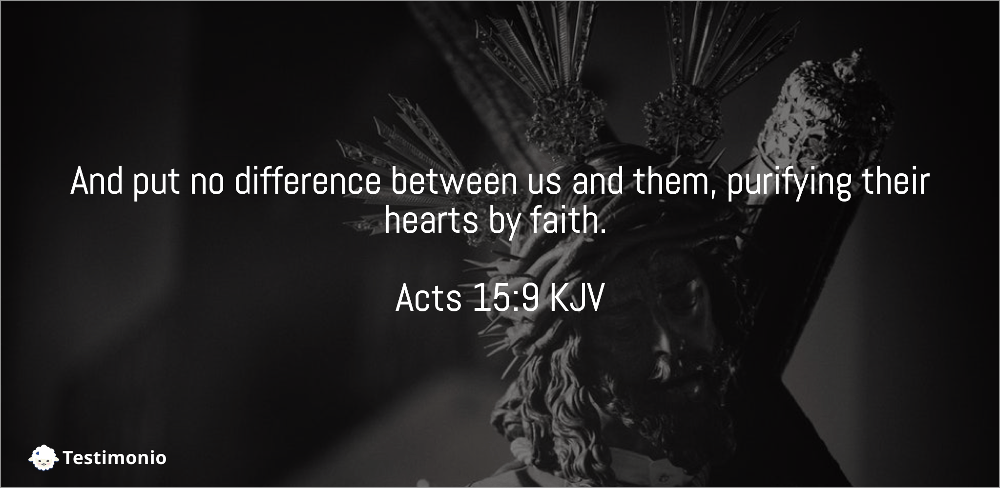 Acts 15:9