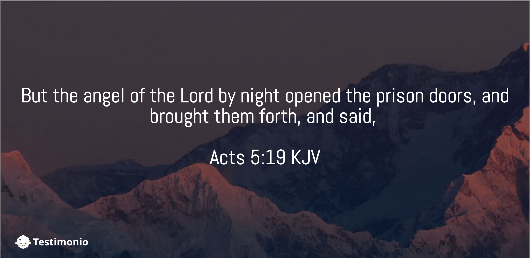 Acts 5:19