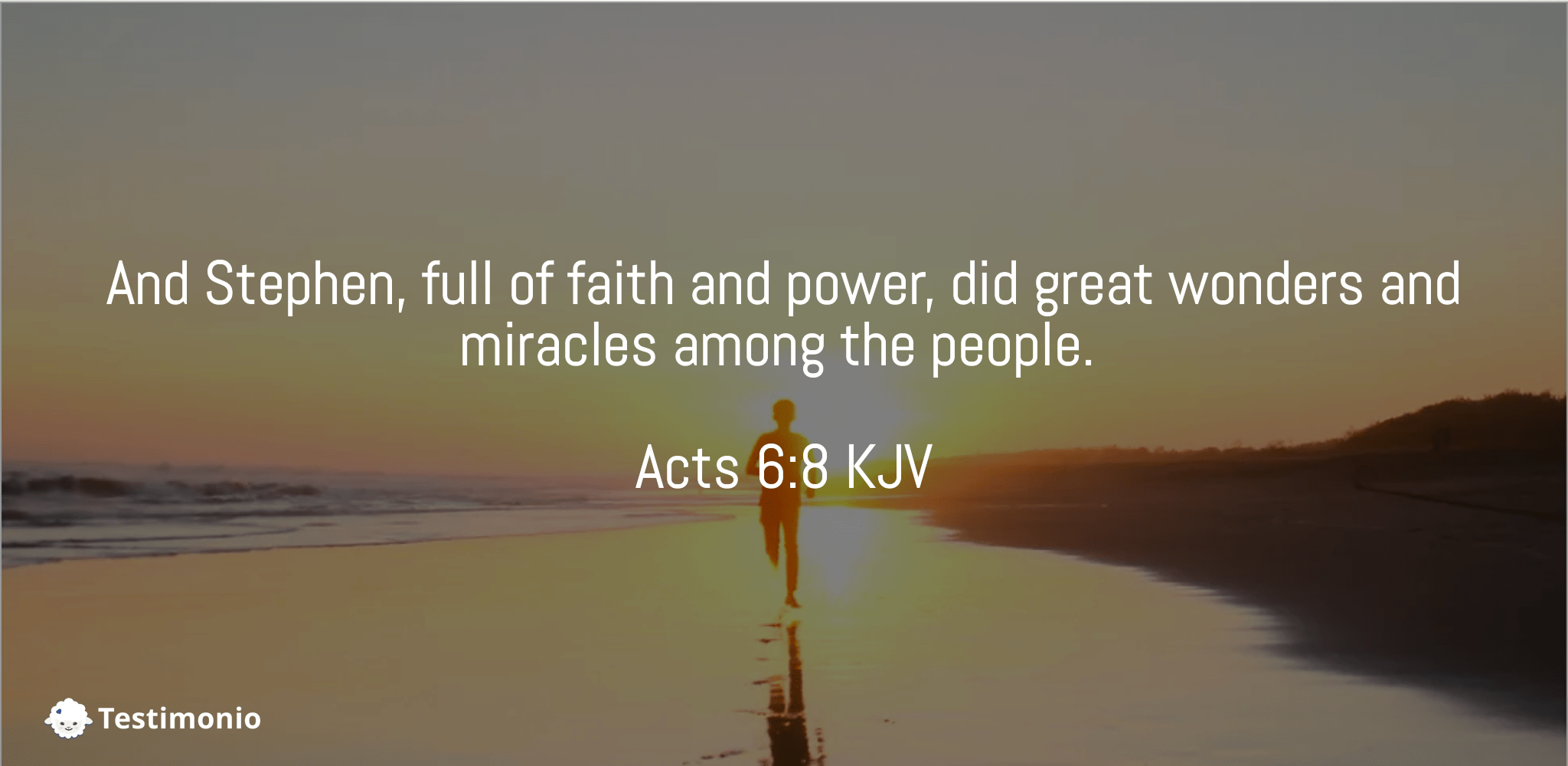 Acts 6:8