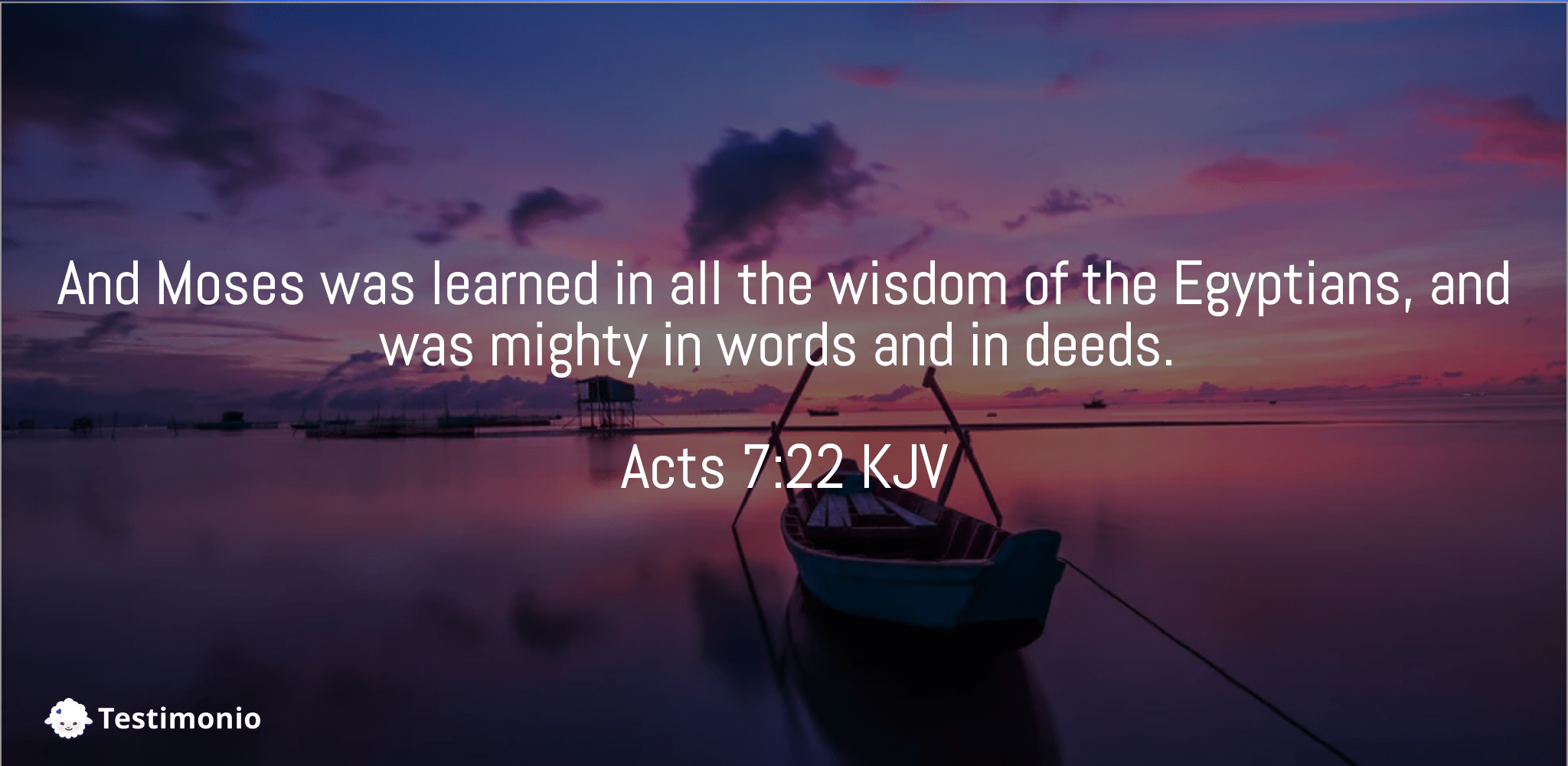 Acts 7:22
