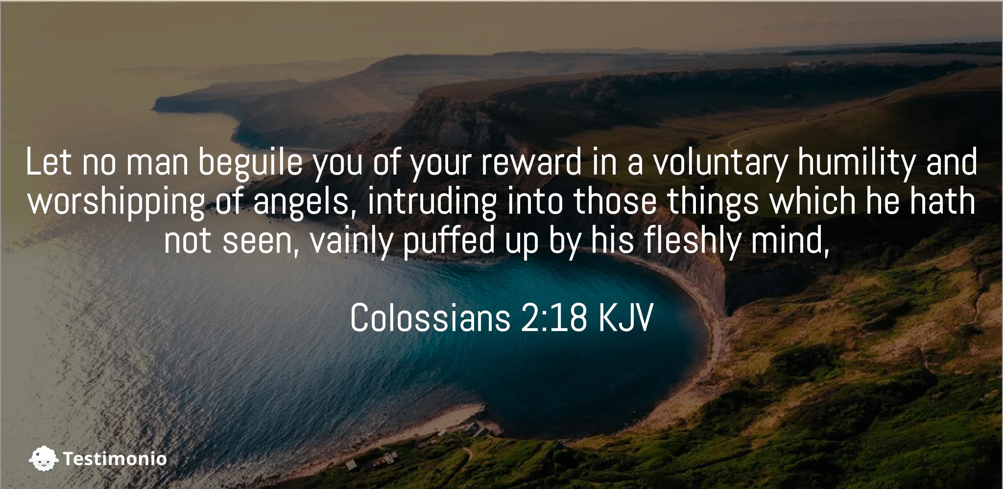 Colossians 2:18
