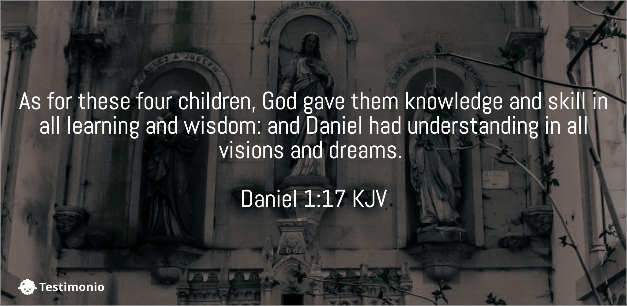 Daniel 1:17