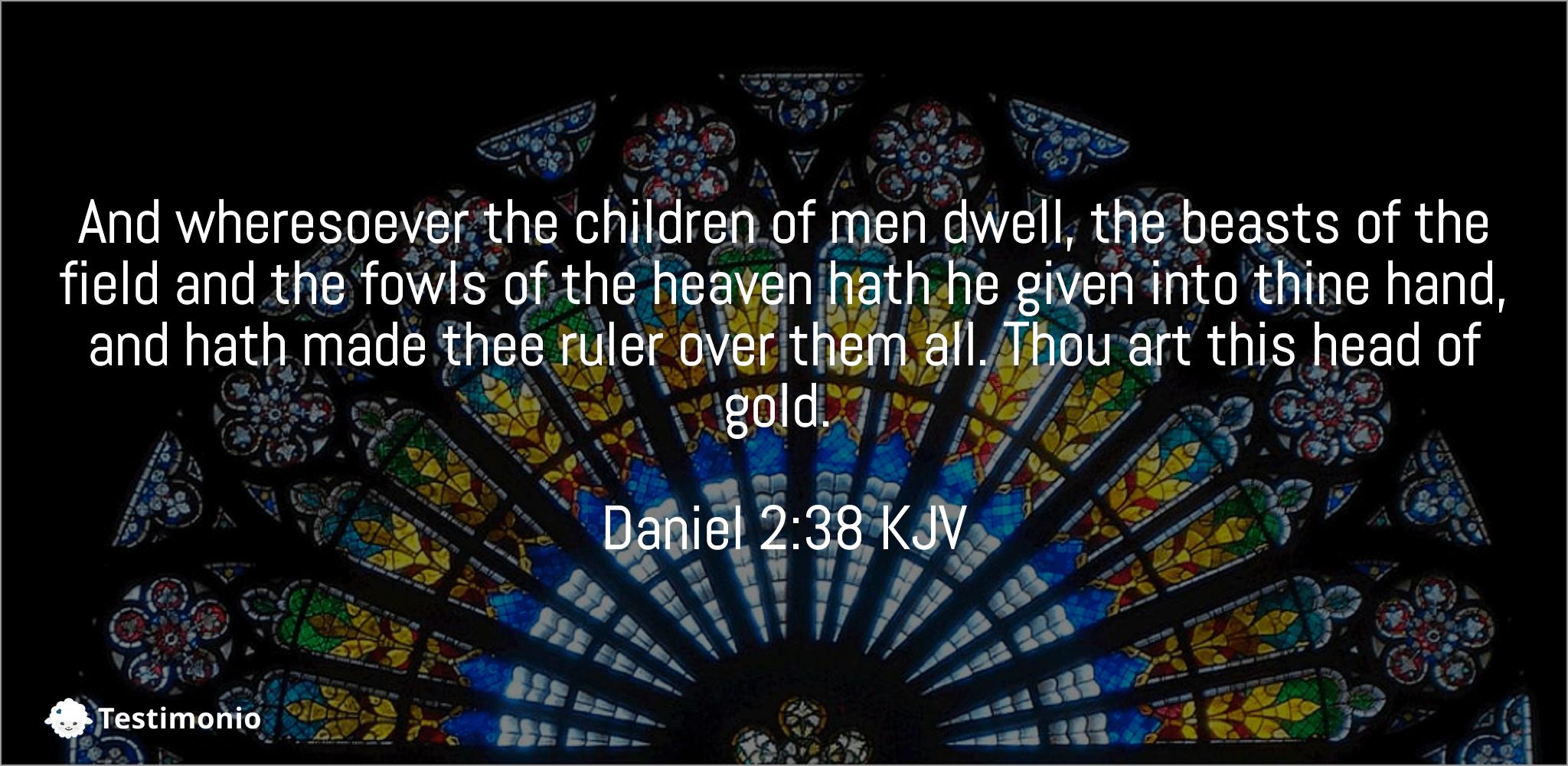 Daniel 2:38