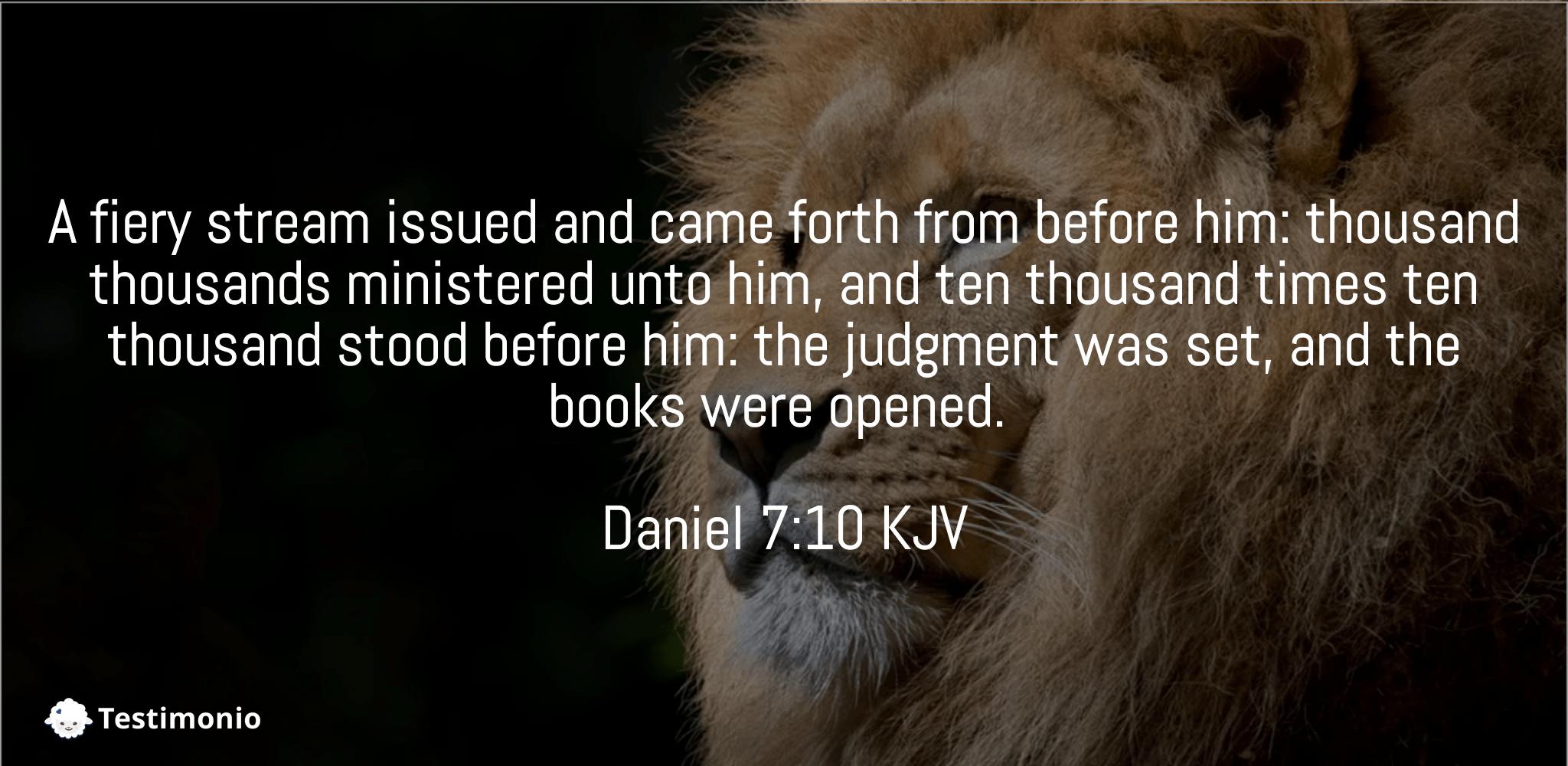 Daniel 7:10