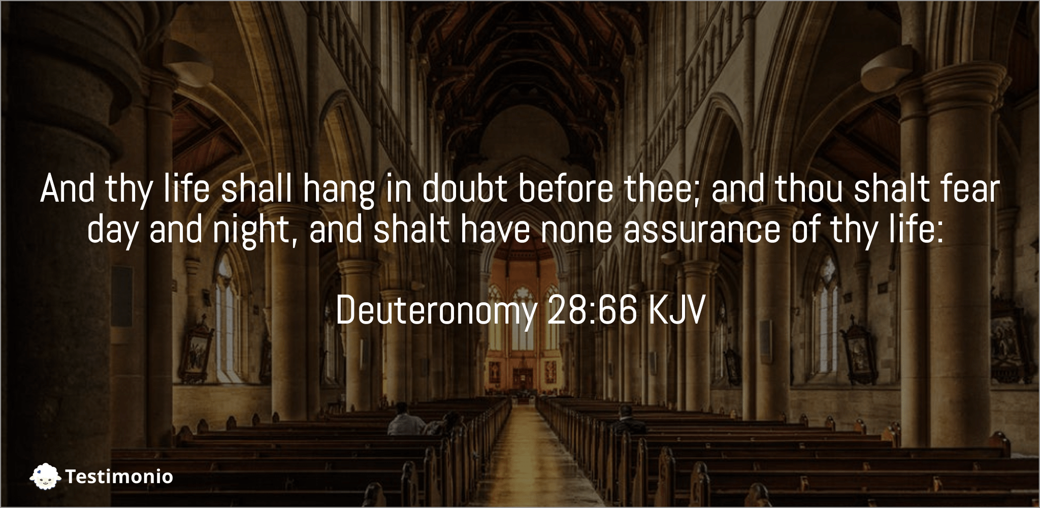 Deuteronomy 28:66