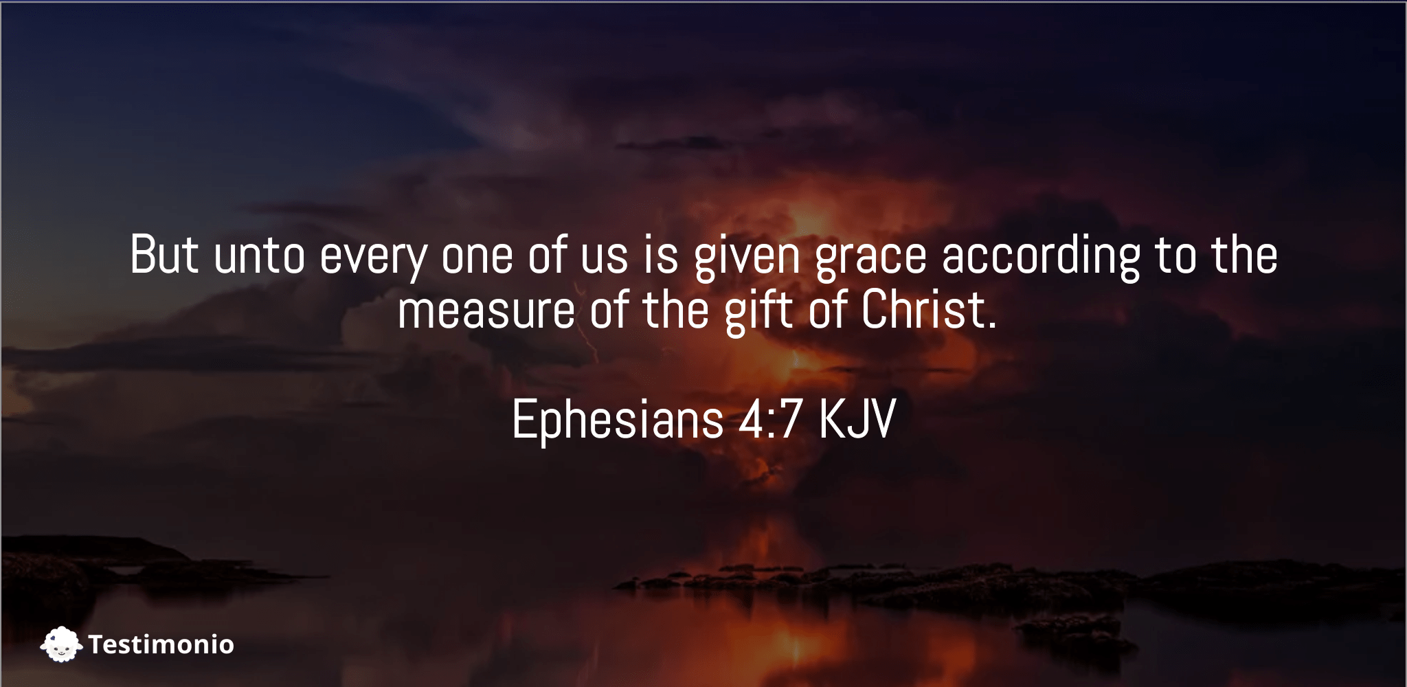 Ephesians 4:7