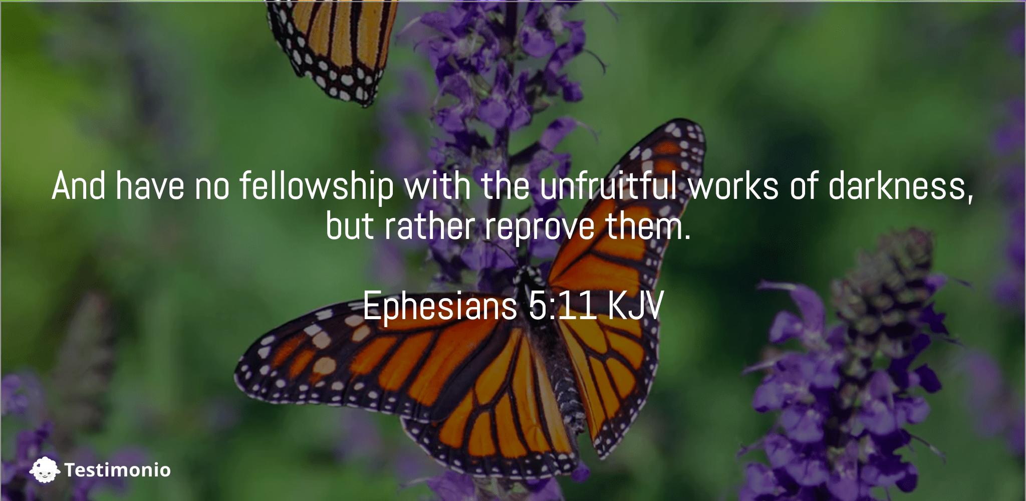 Ephesians 5:11