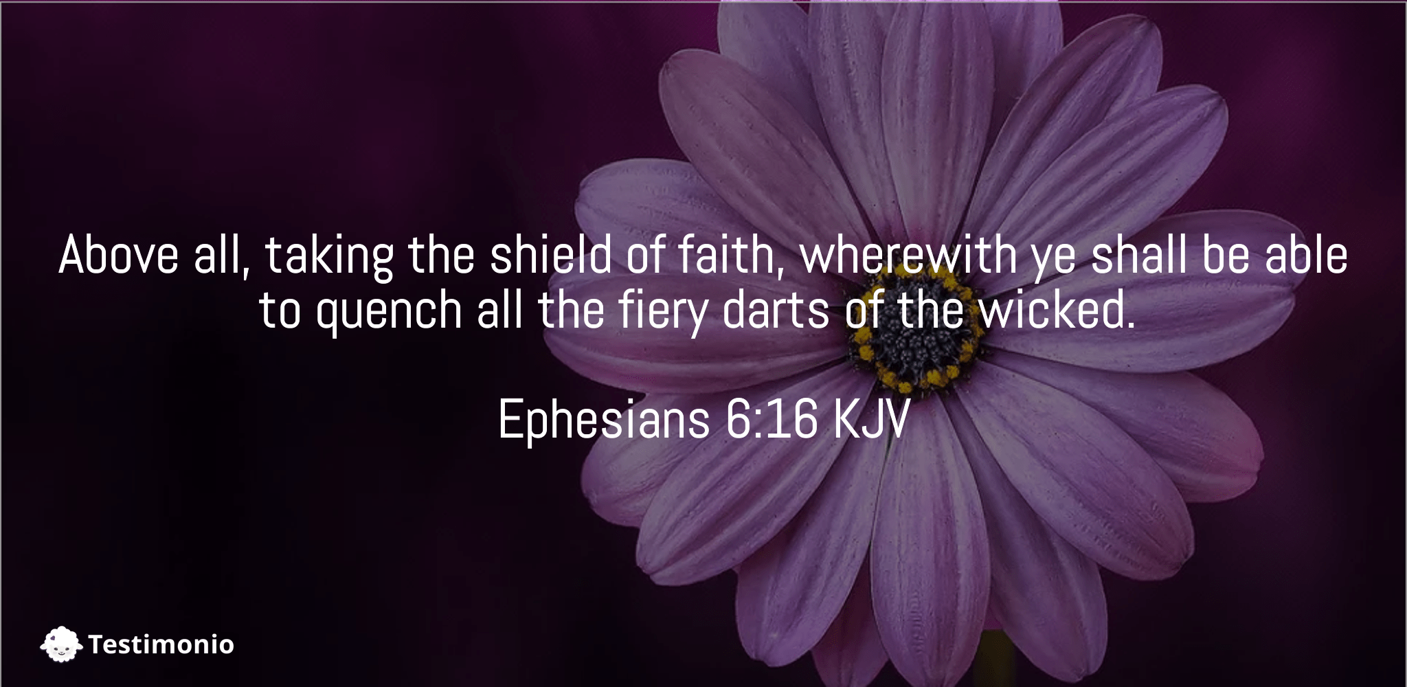 Ephesians 6:16