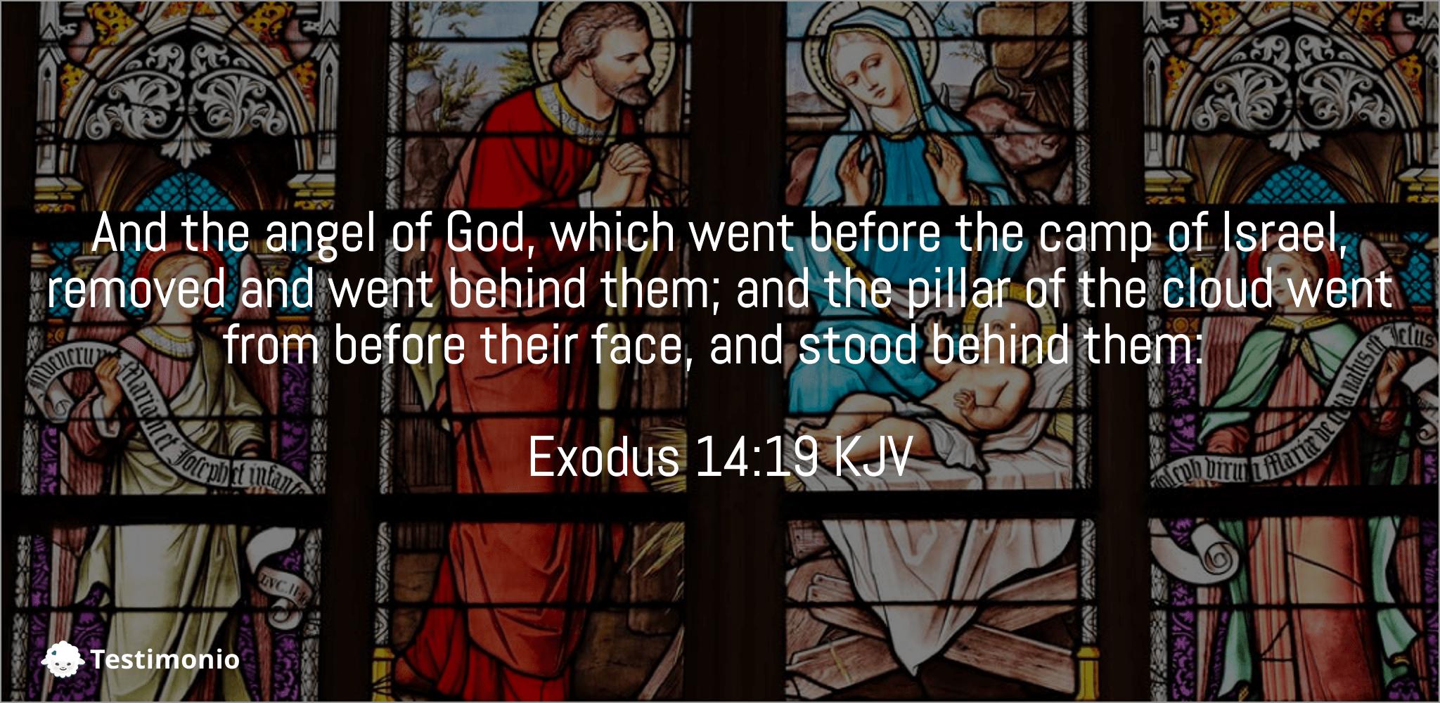 Exodus 14:19