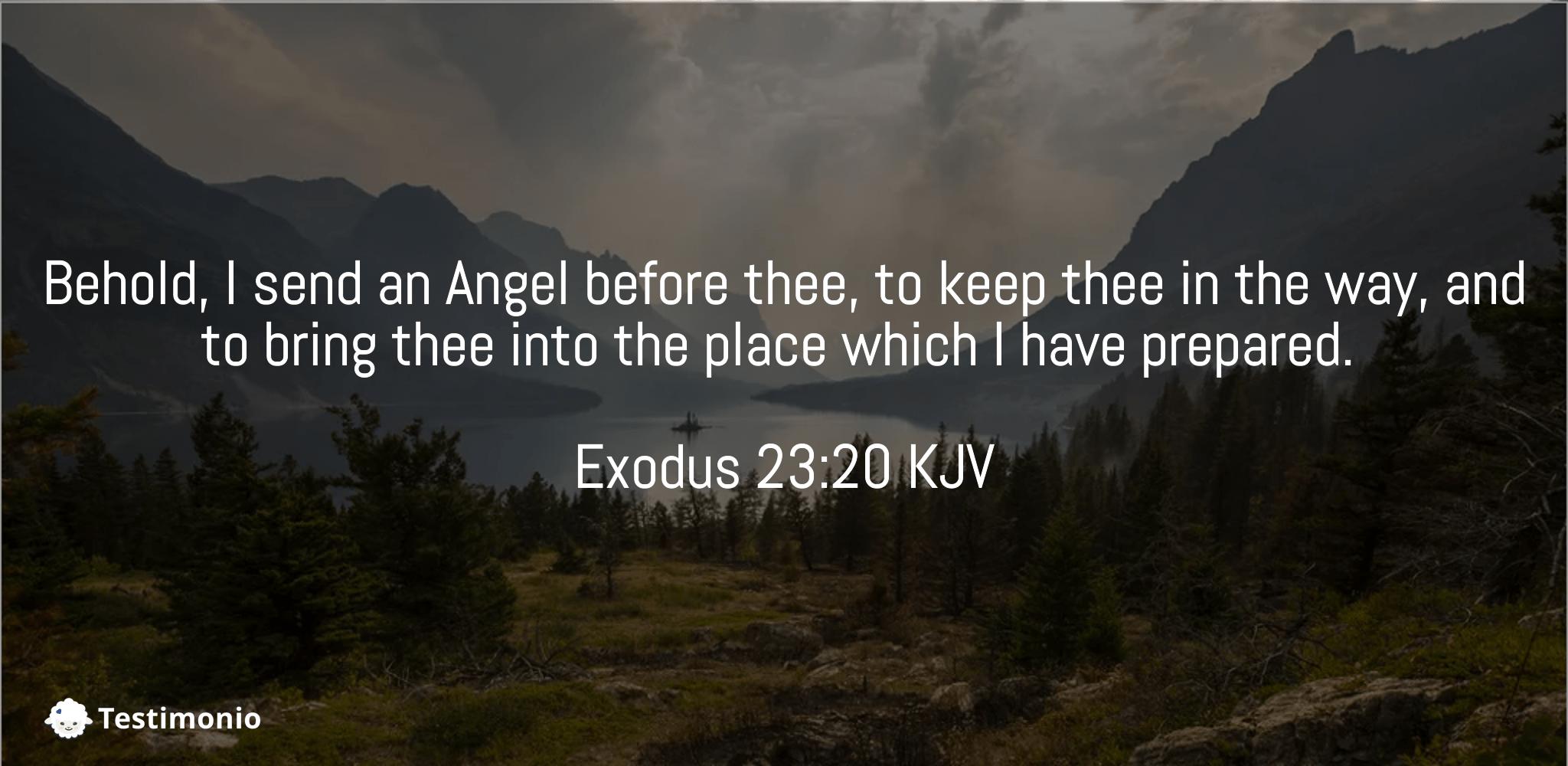 Exodus 23:20