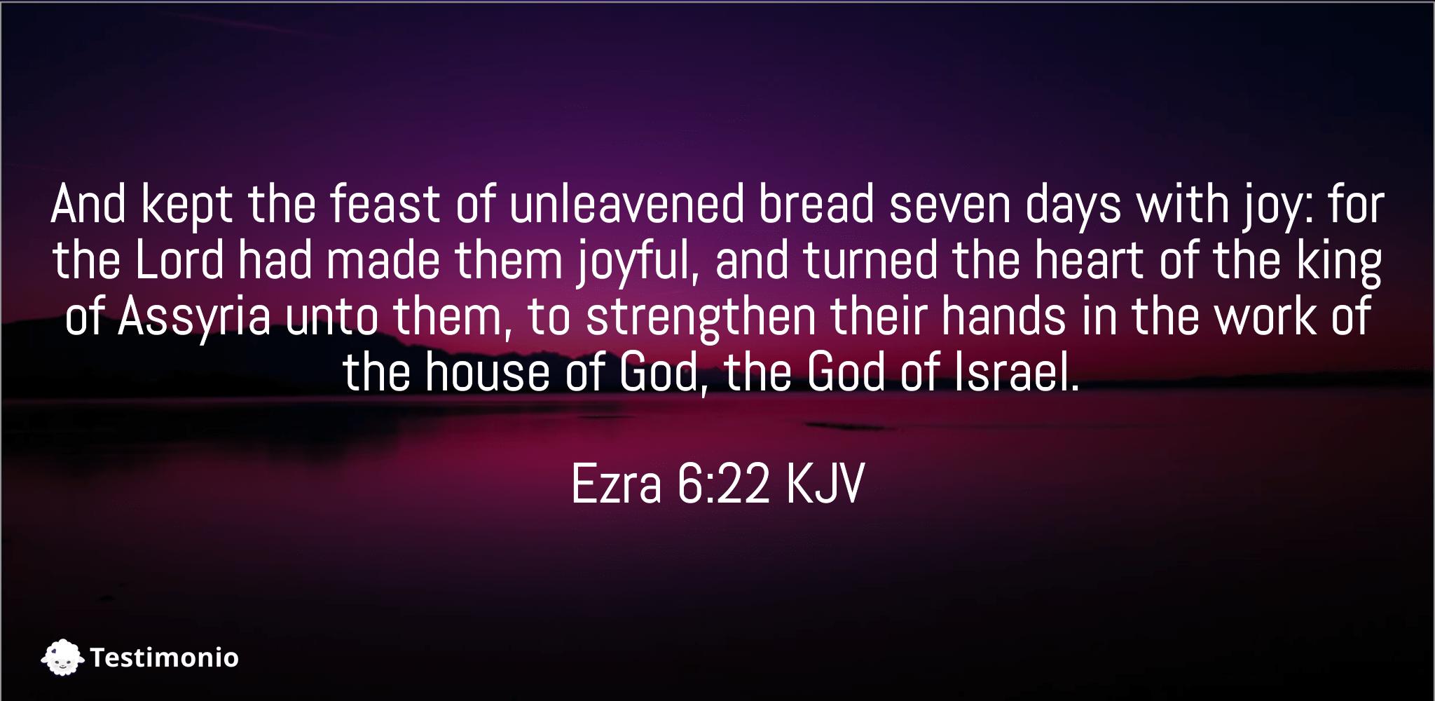 Ezra 6:22