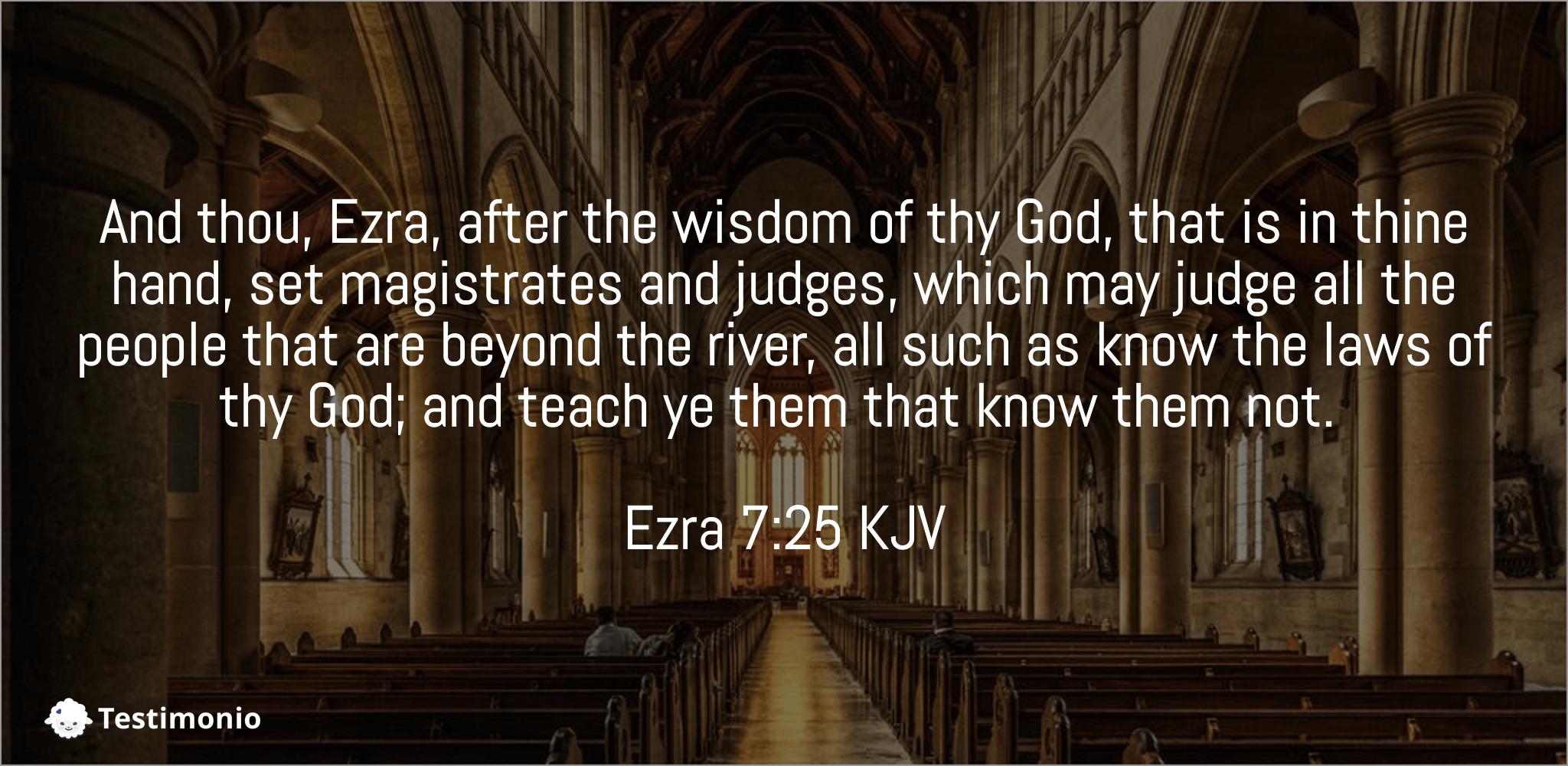 Ezra 7:25