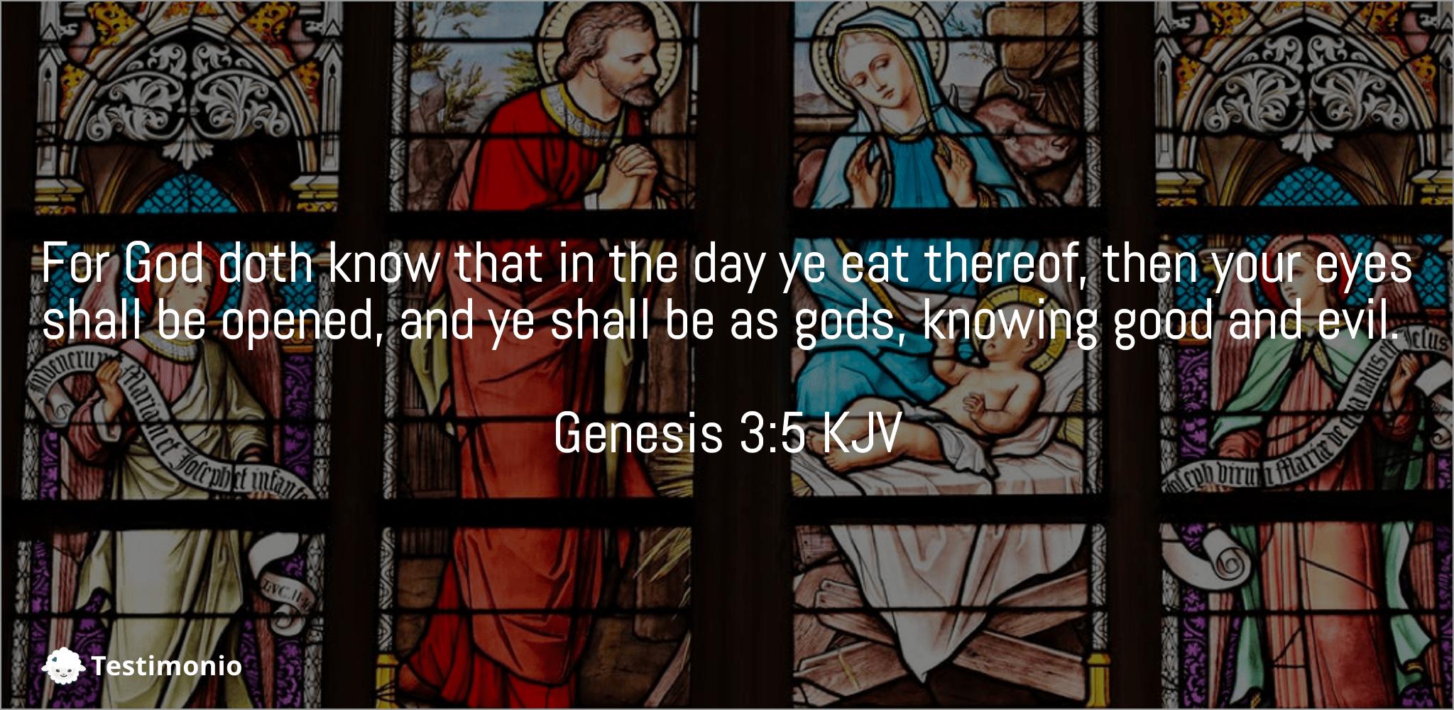 Genesis 3:5
