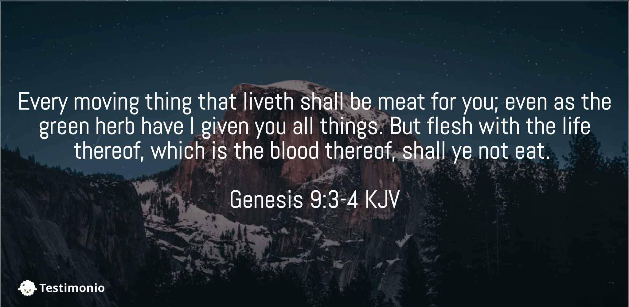 Genesis 9:3-4