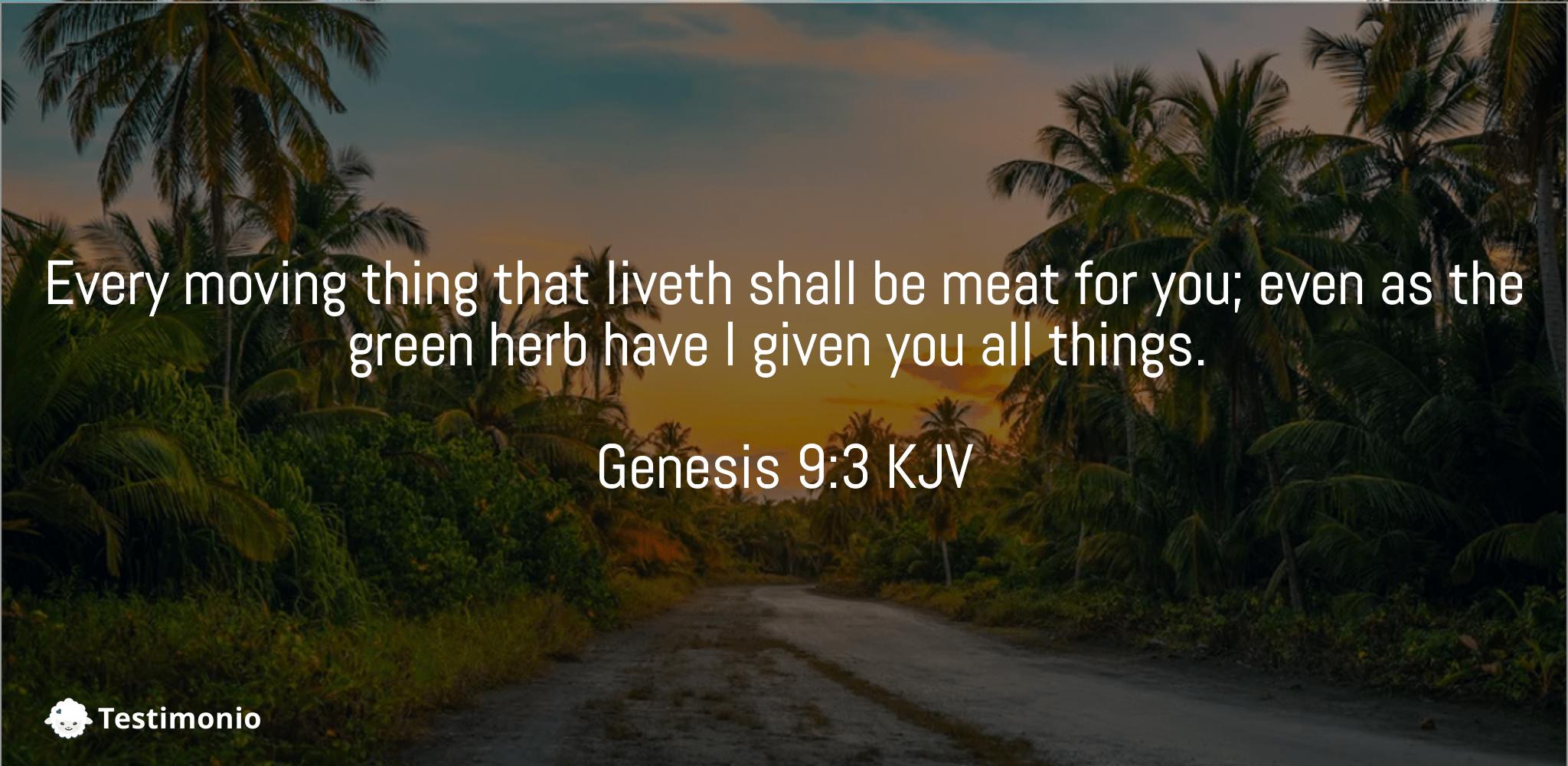 Genesis 9:3