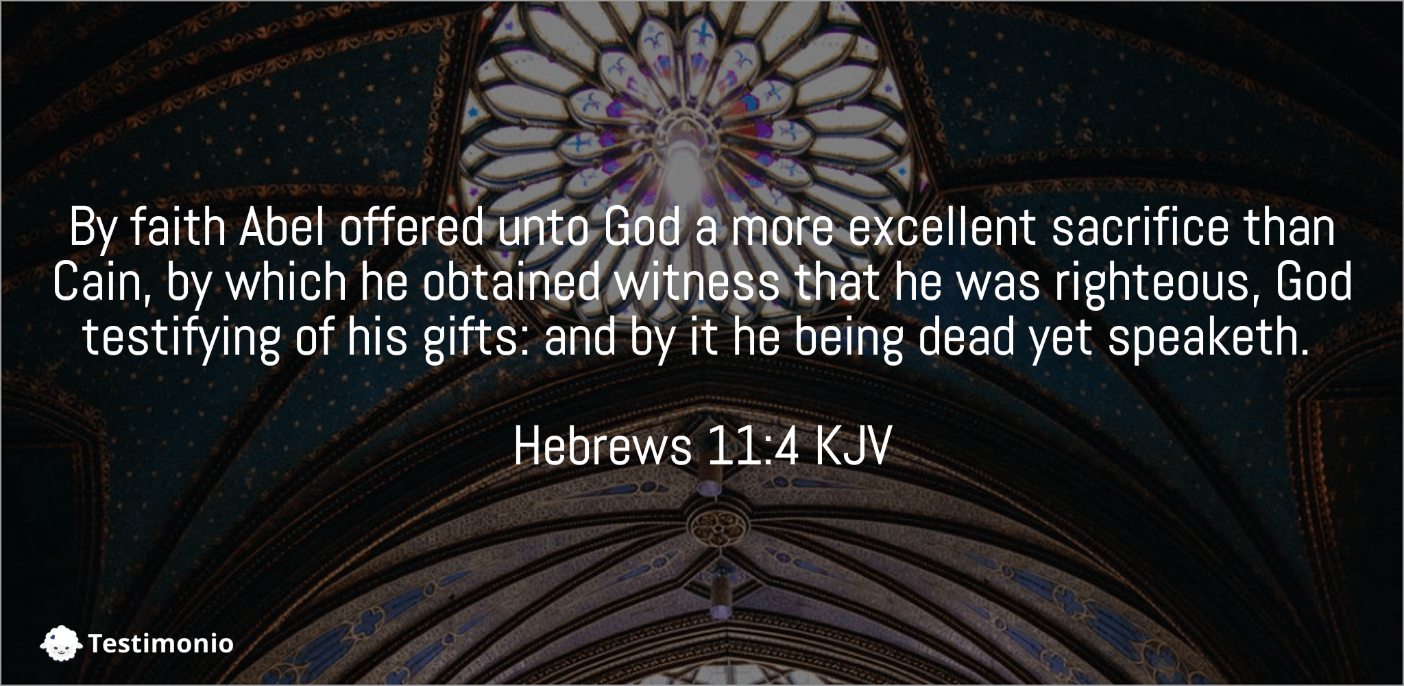 Hebrews 11:4