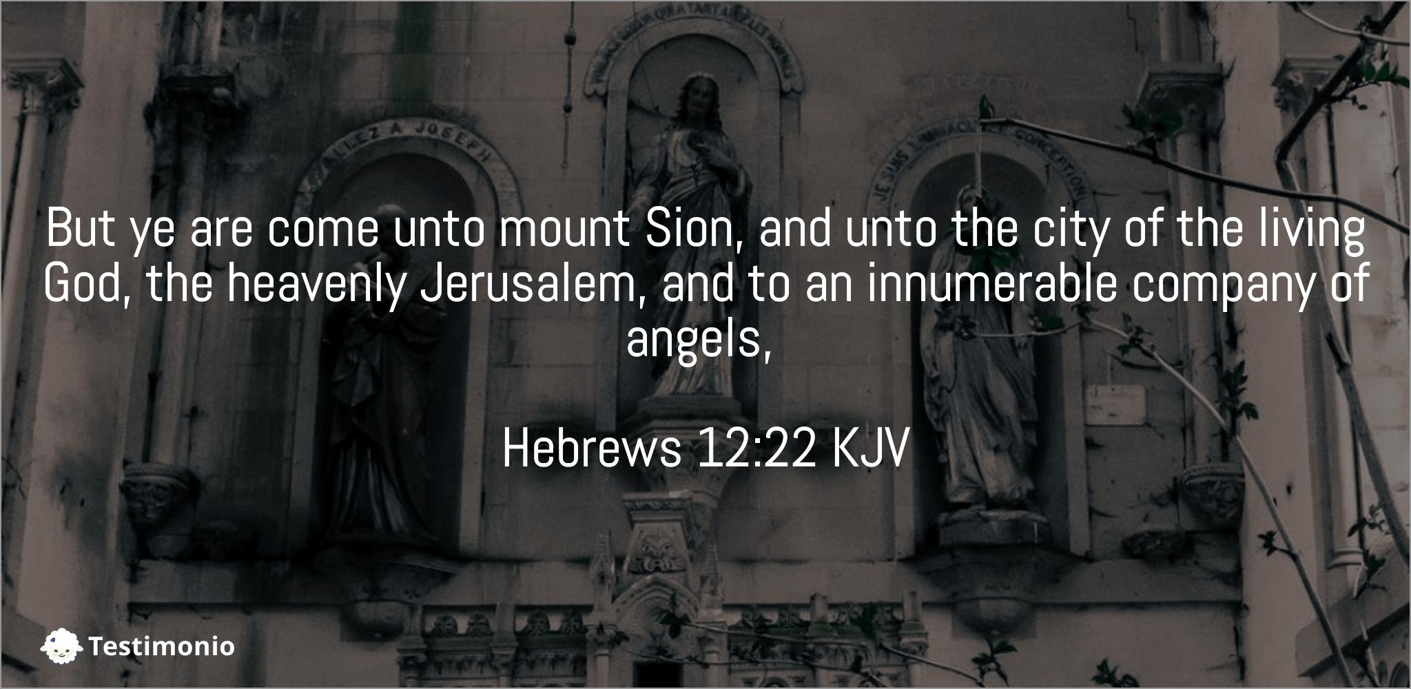 Hebrews 12:22
