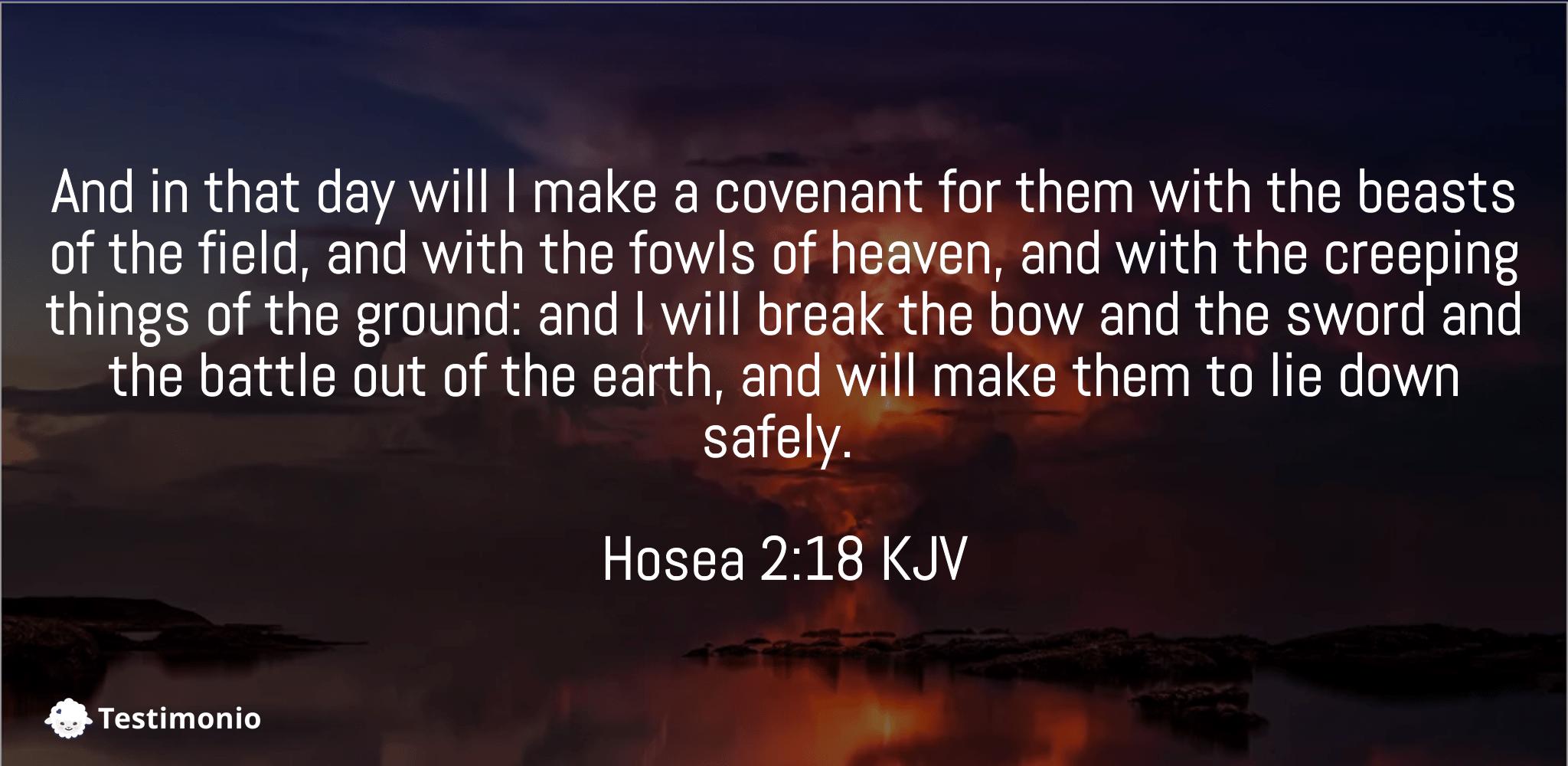 Hosea 2:18