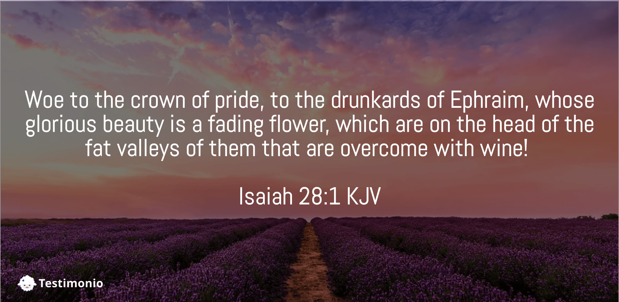 Isaiah 28:1