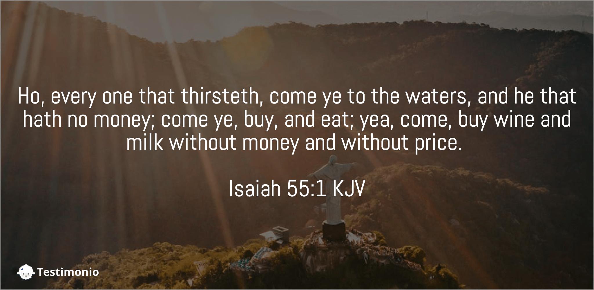 Isaiah 55:1