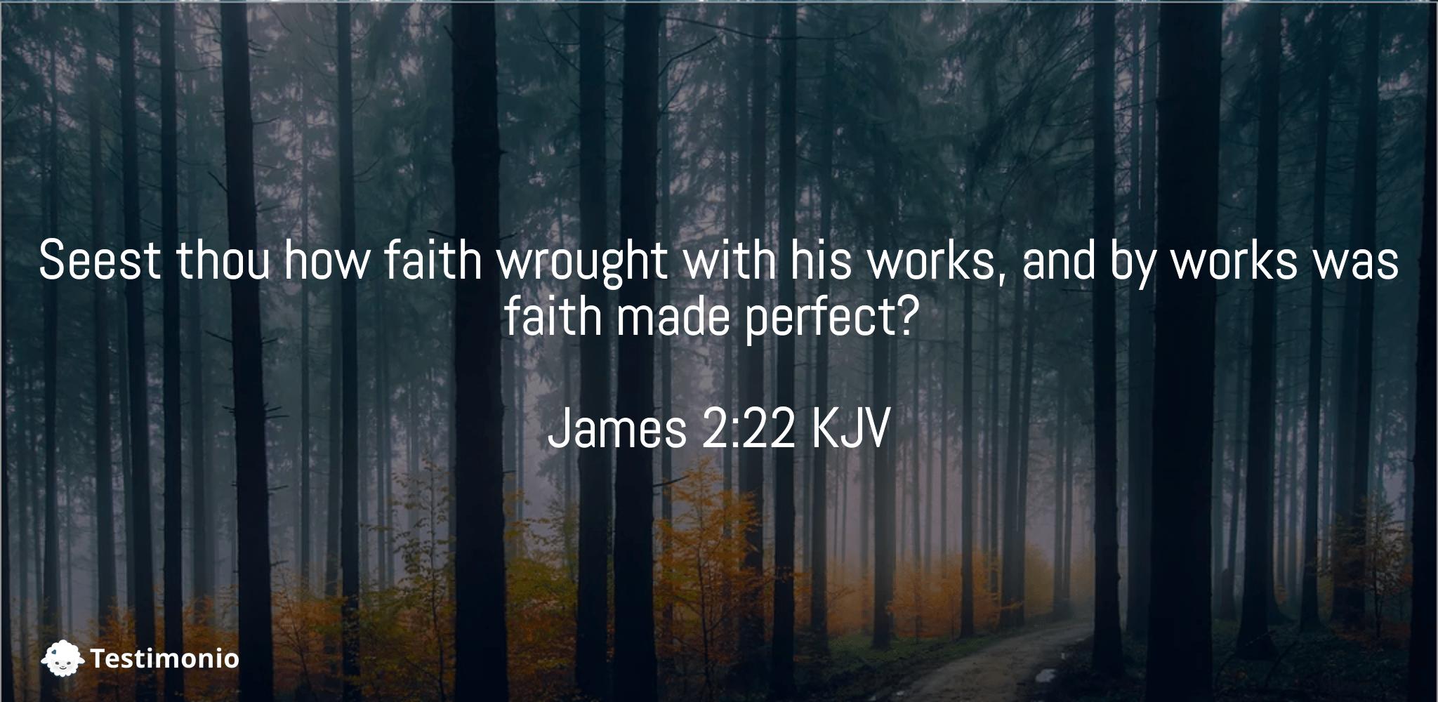 James 2:22