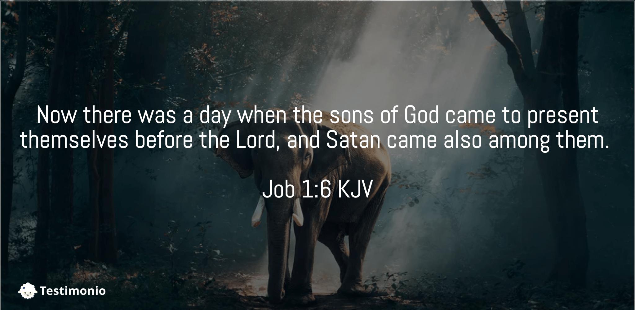 Job 1:6