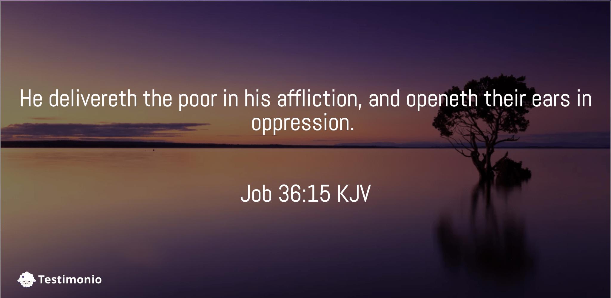 Job 36:15
