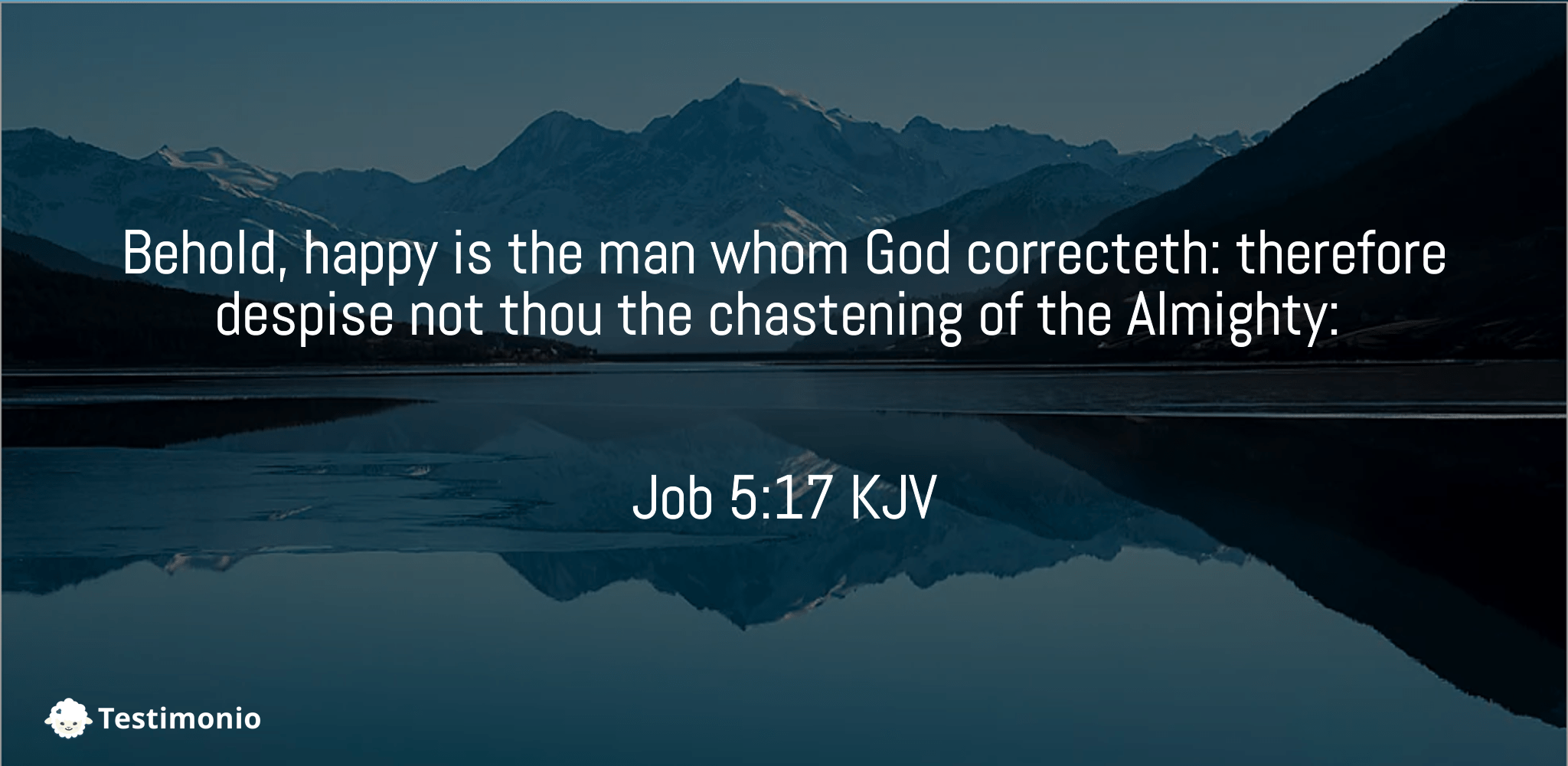 Job 5:17