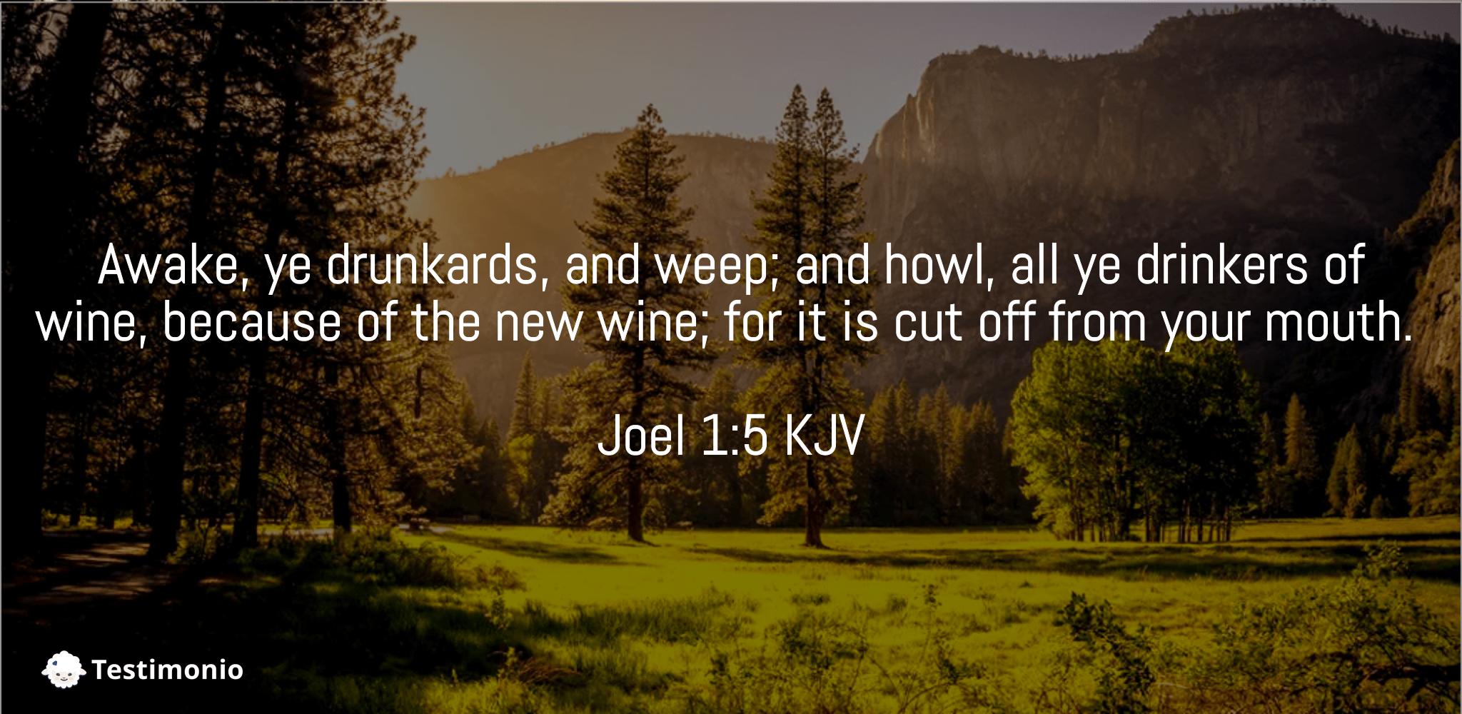 Joel 1:5