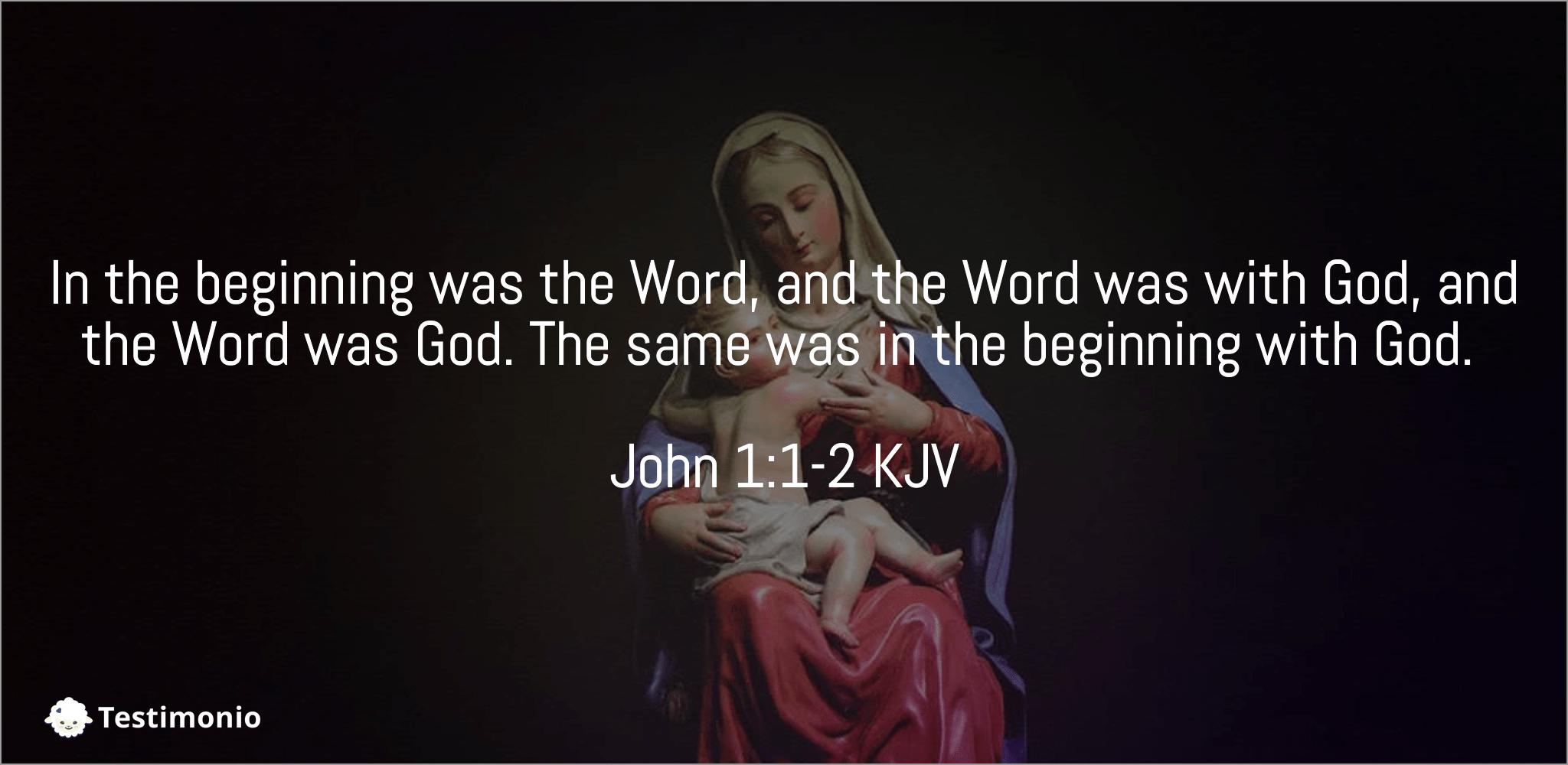 John 1:1-2