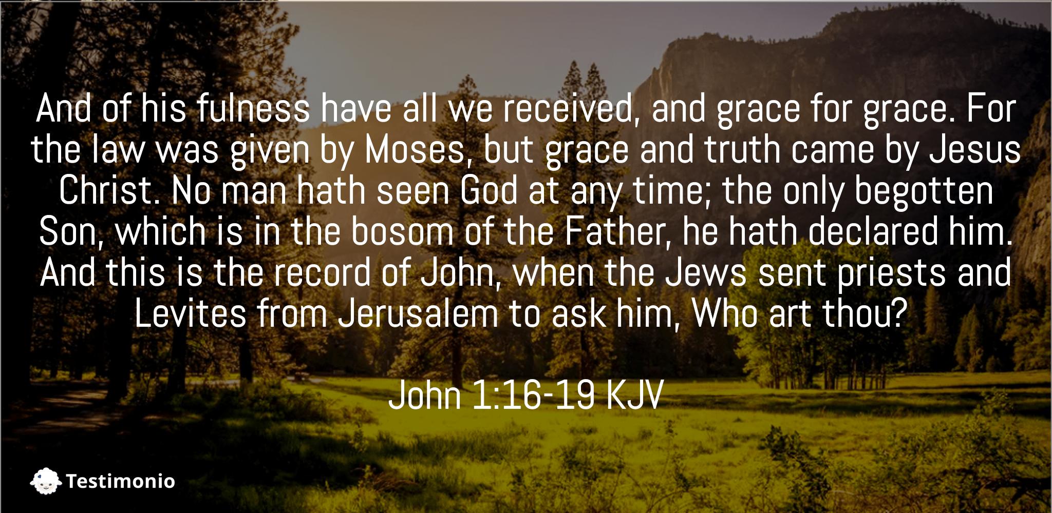 John 1:16-19