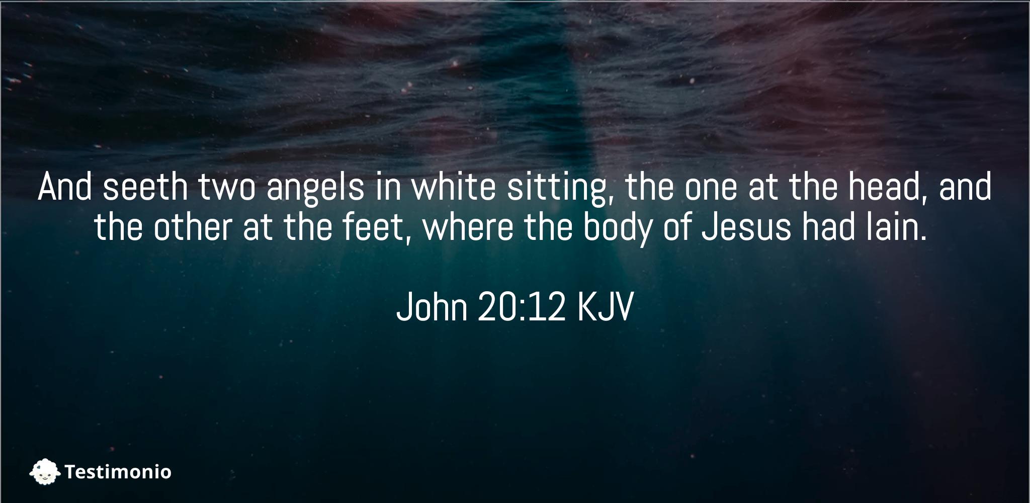 John 20:12