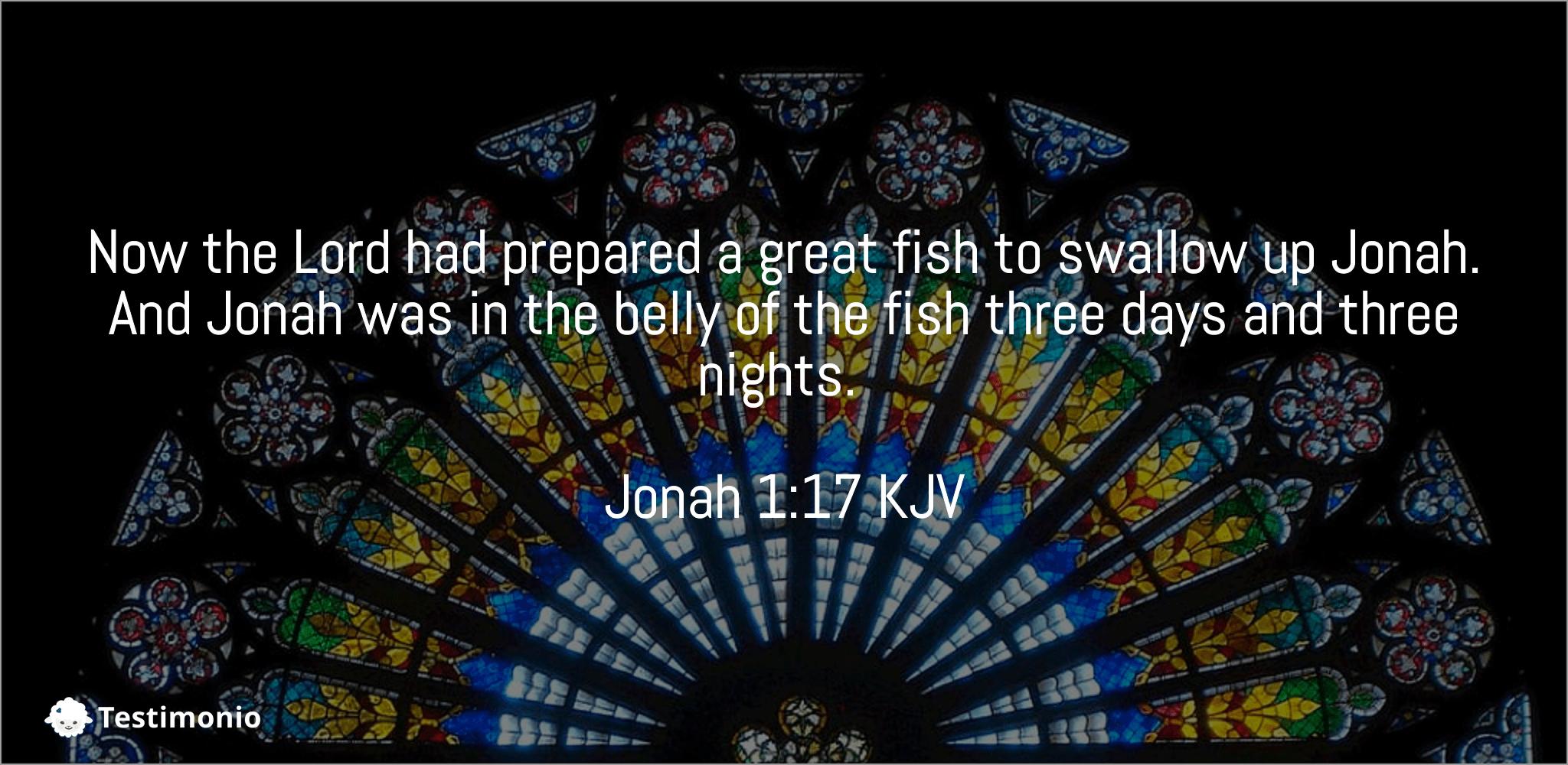 Jonah 1:17