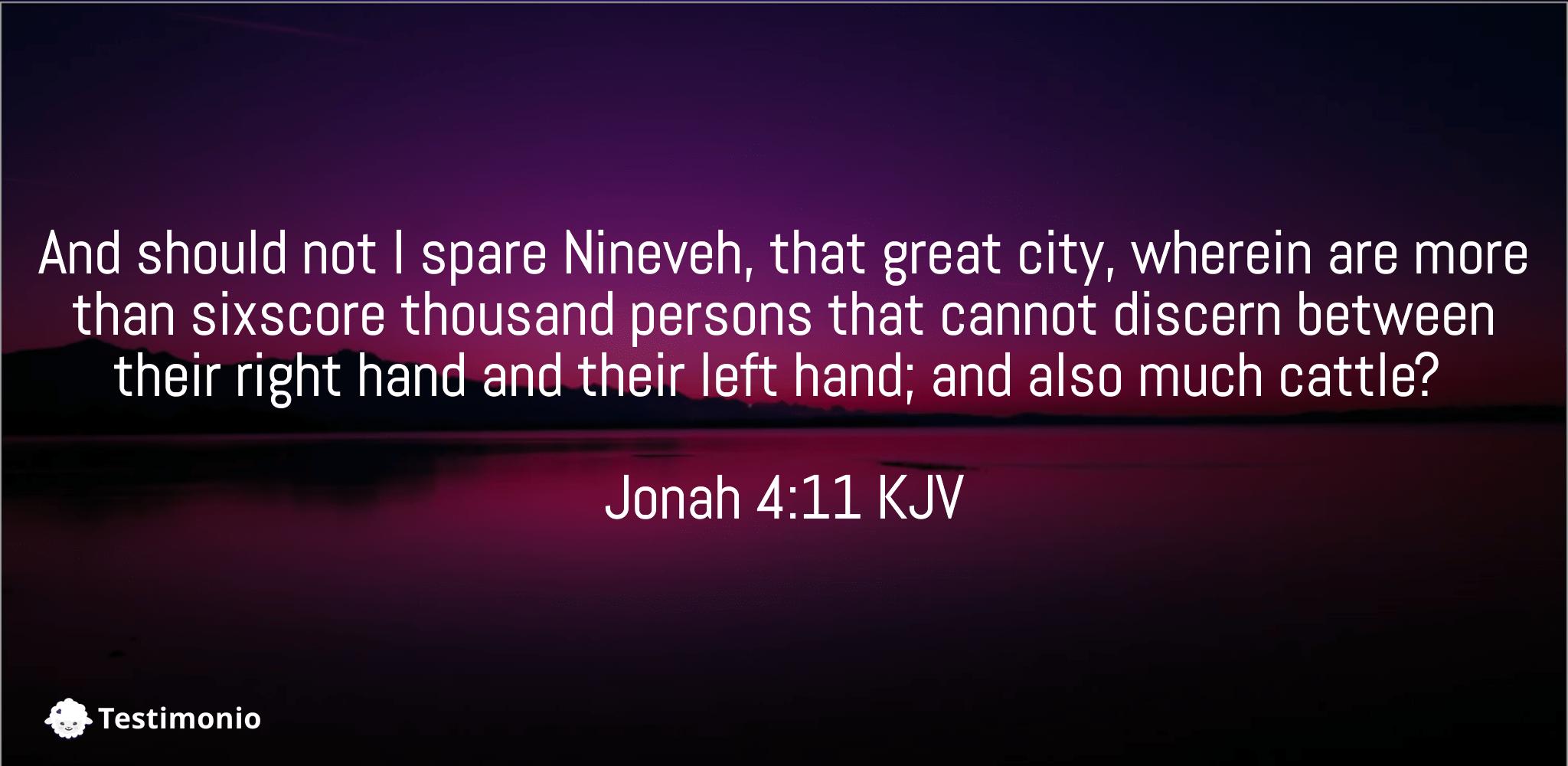 Jonah 4:11