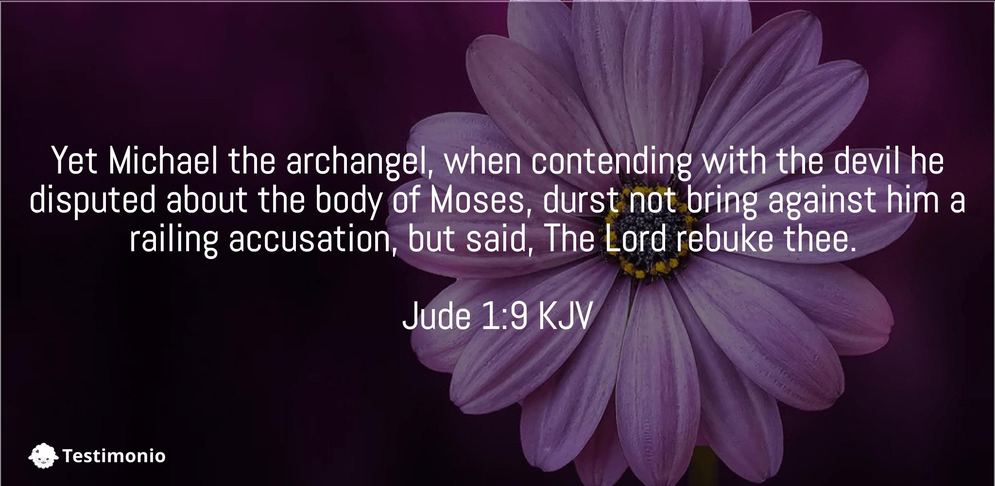 Jude 1:9