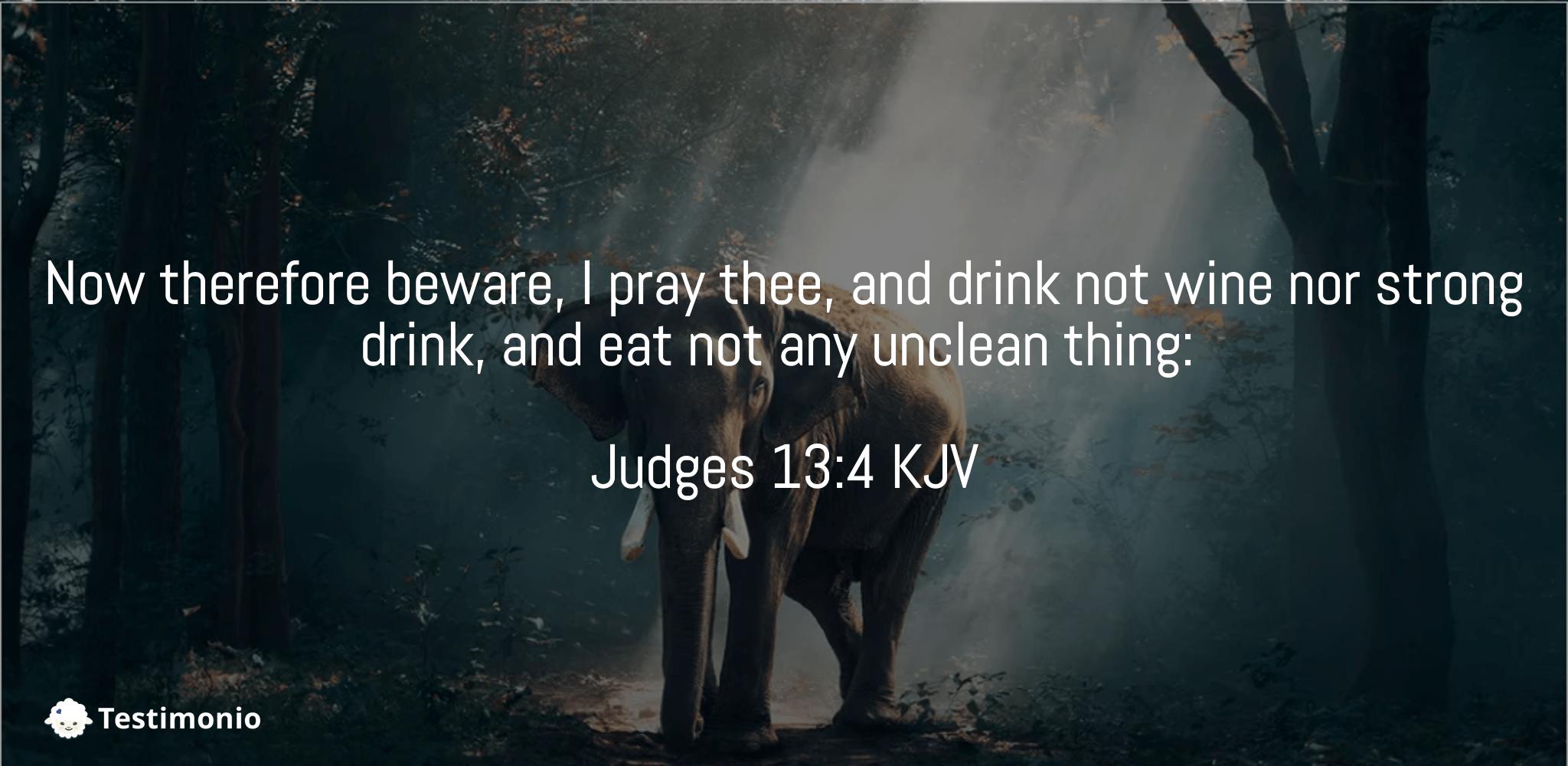 Judges 13:4