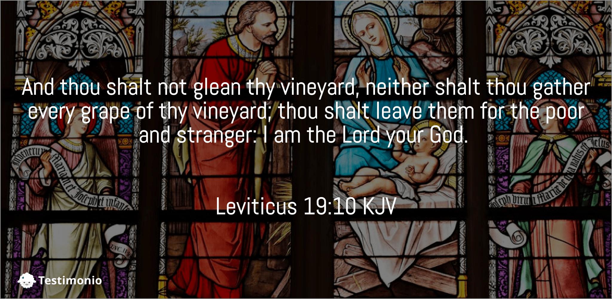Leviticus 19:10