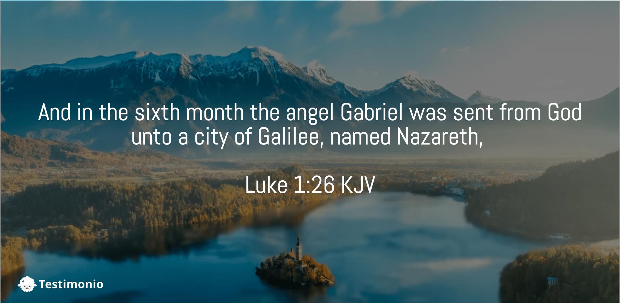 Luke 1:26