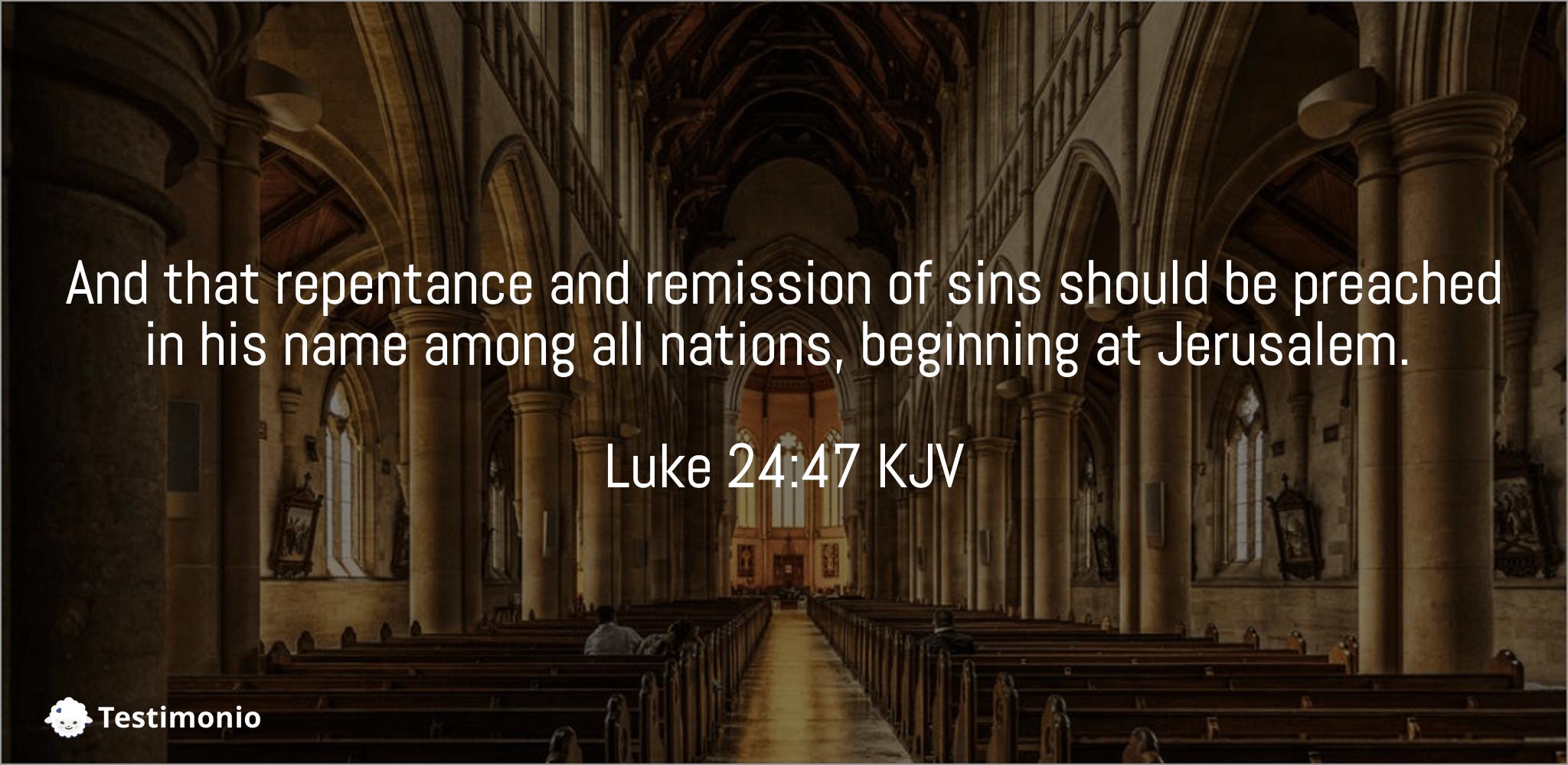 Luke 24:47